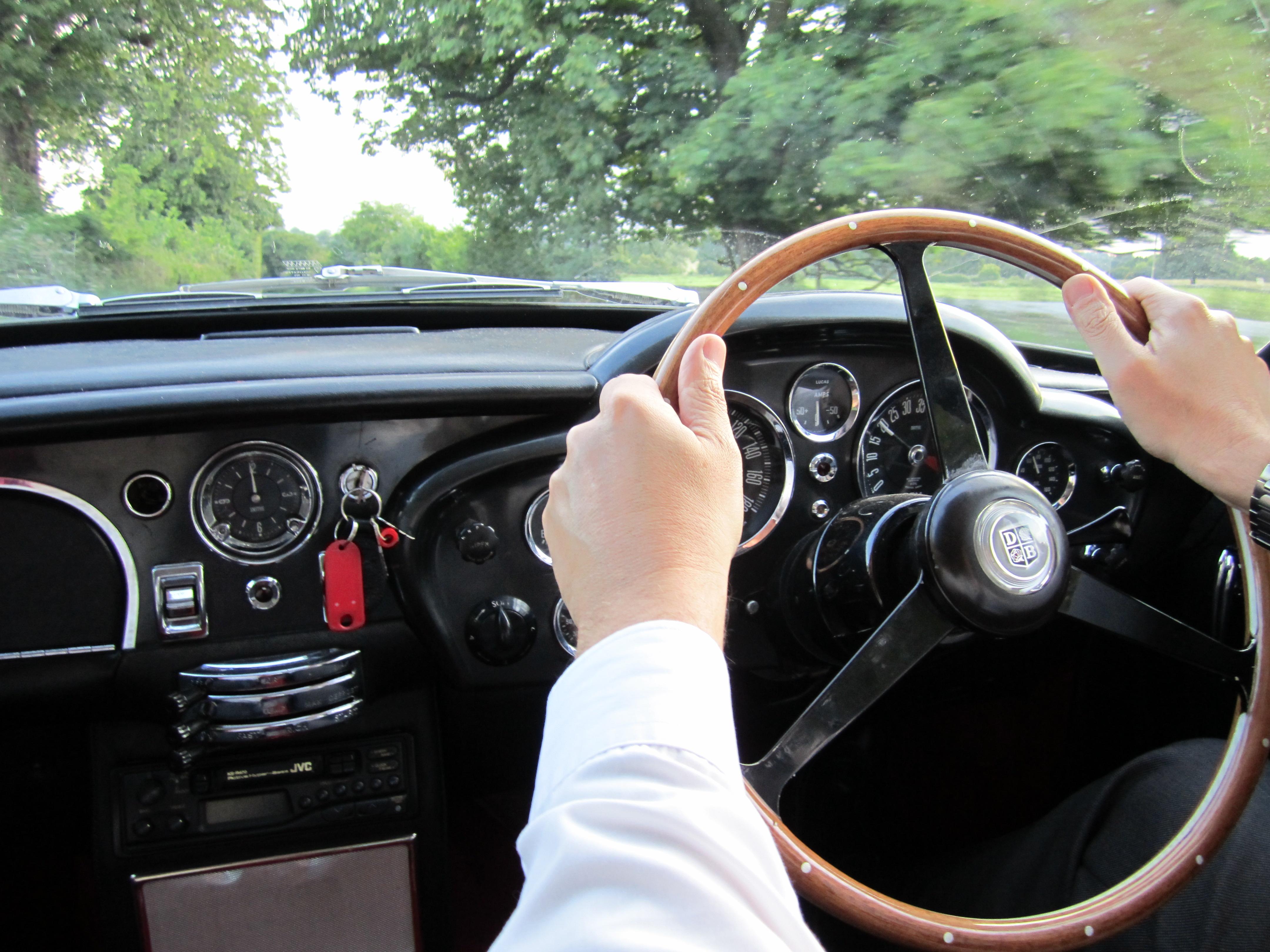 Aston Martin DB6 Driven