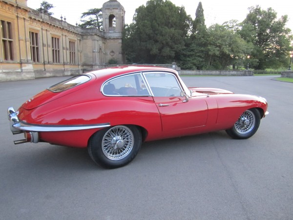Jaguar E Type 42 Coupe
