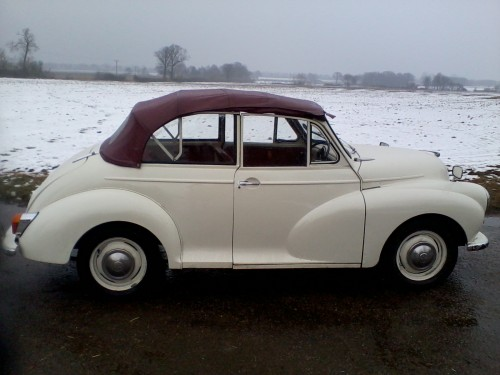Hire a Classic Car in Yorkshire