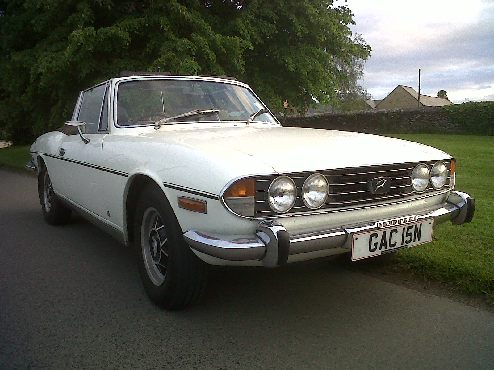 Stag had Triumph 2000 underpinnings