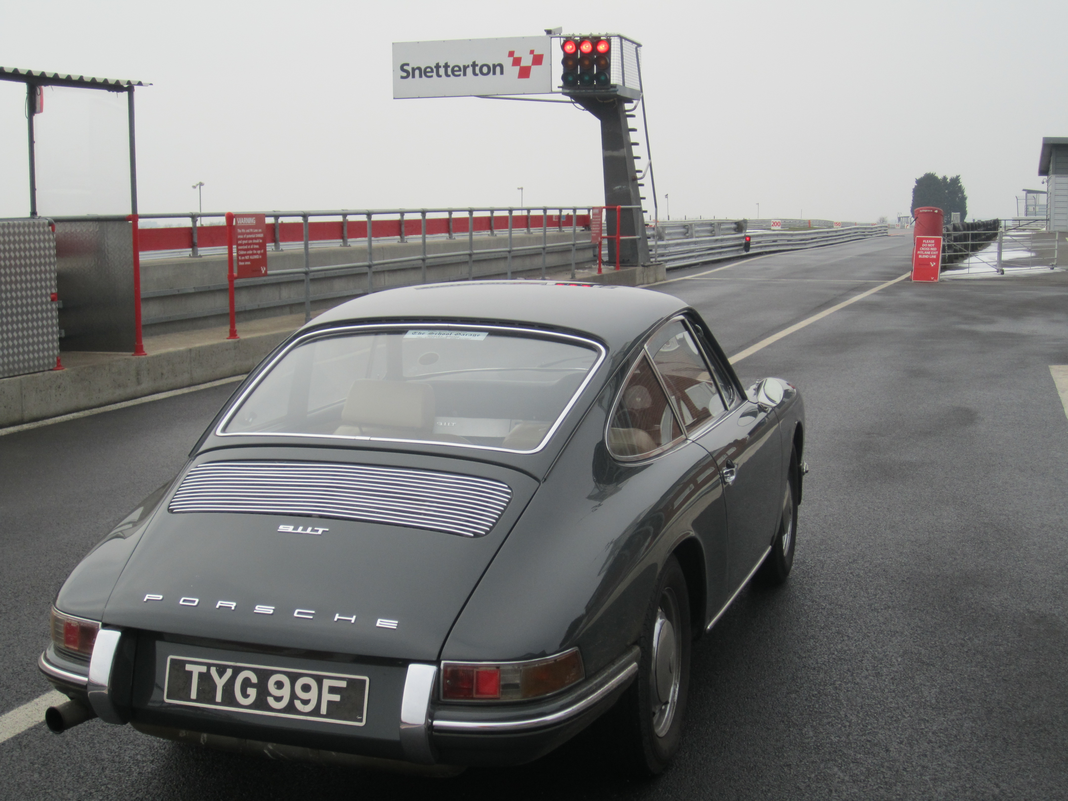 No Stopping Porsche