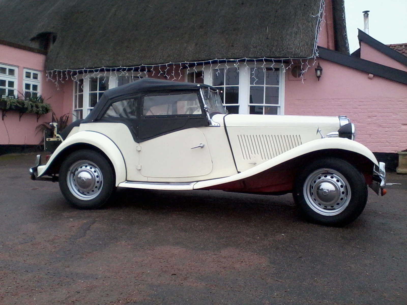 MG TD is Laugh out Loud fun to drive