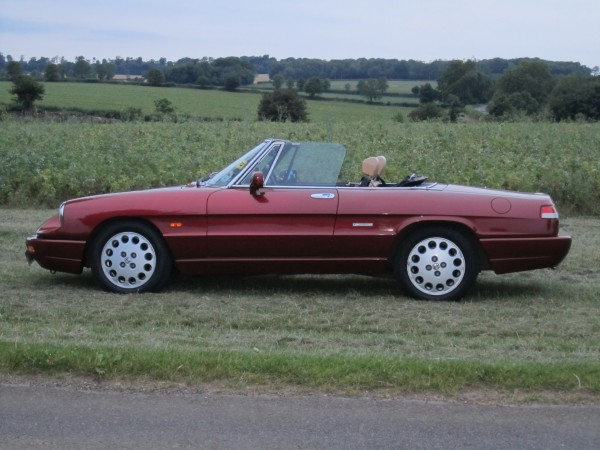 Alfa Romeo Spider weaves a delicious web from which there is no escape (Pictures: Julia Nichols)