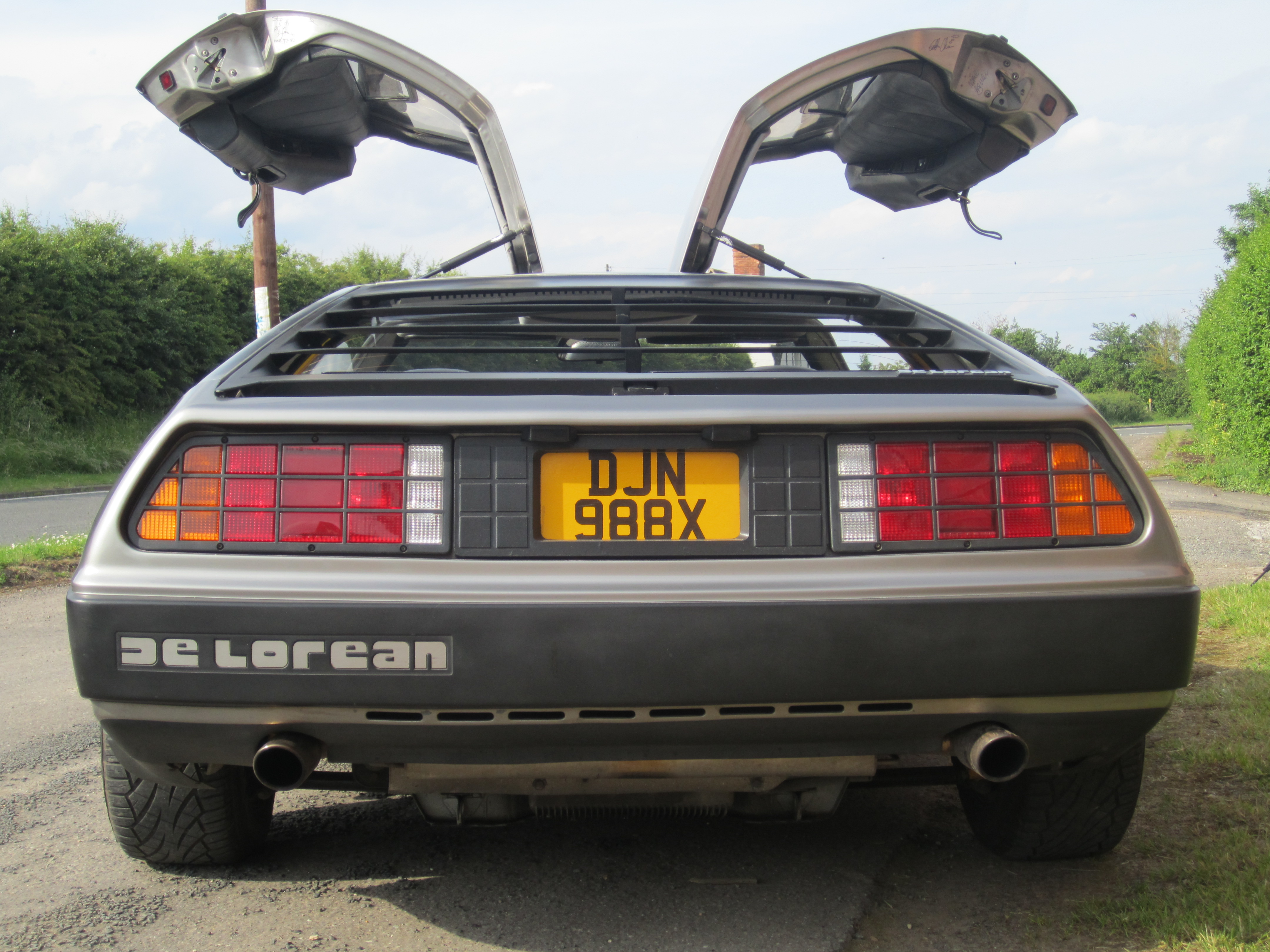 Delorean's Distinctive Gullwing Doors