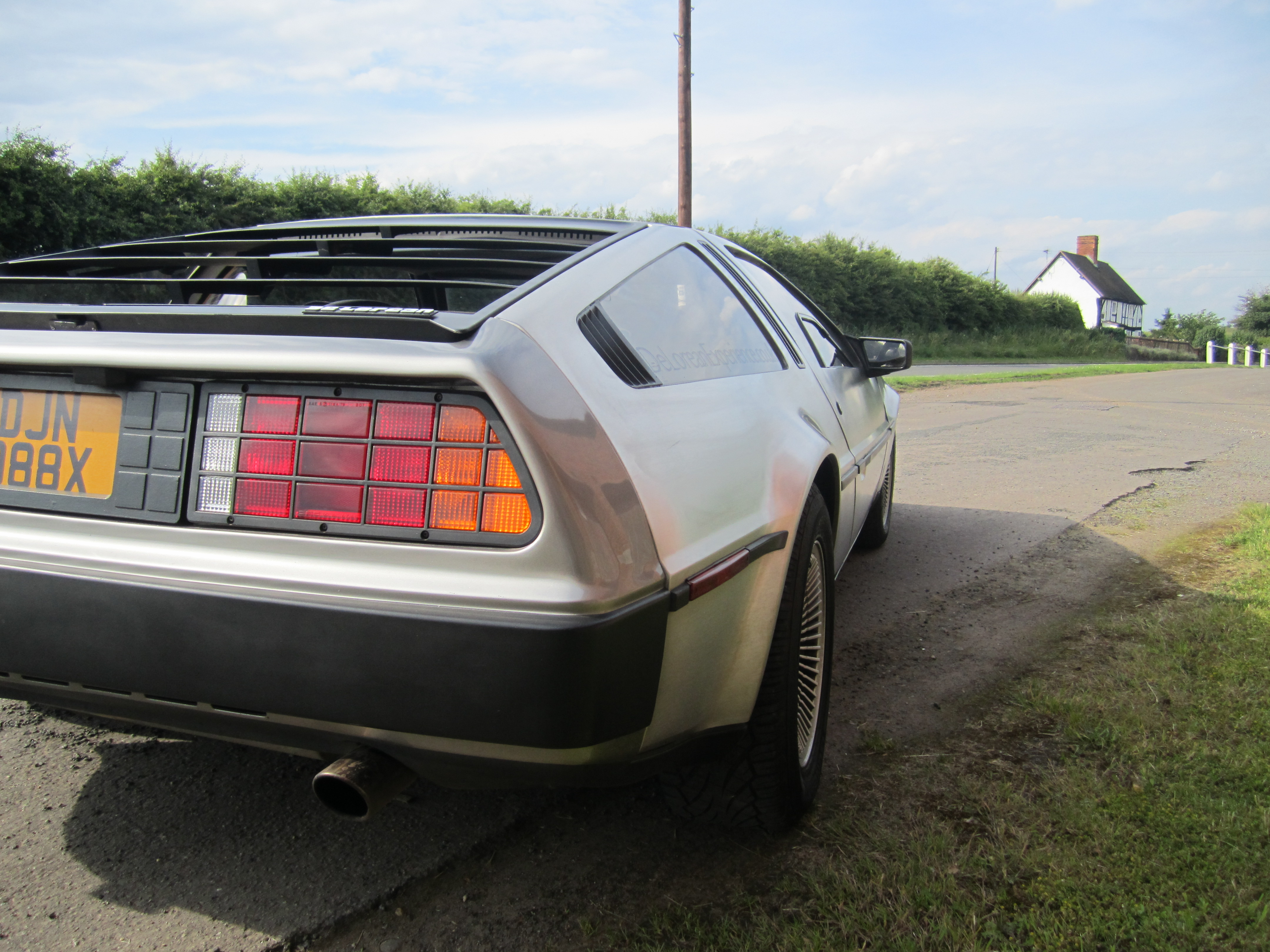 The Delorean DMC 12 is a great car to drive