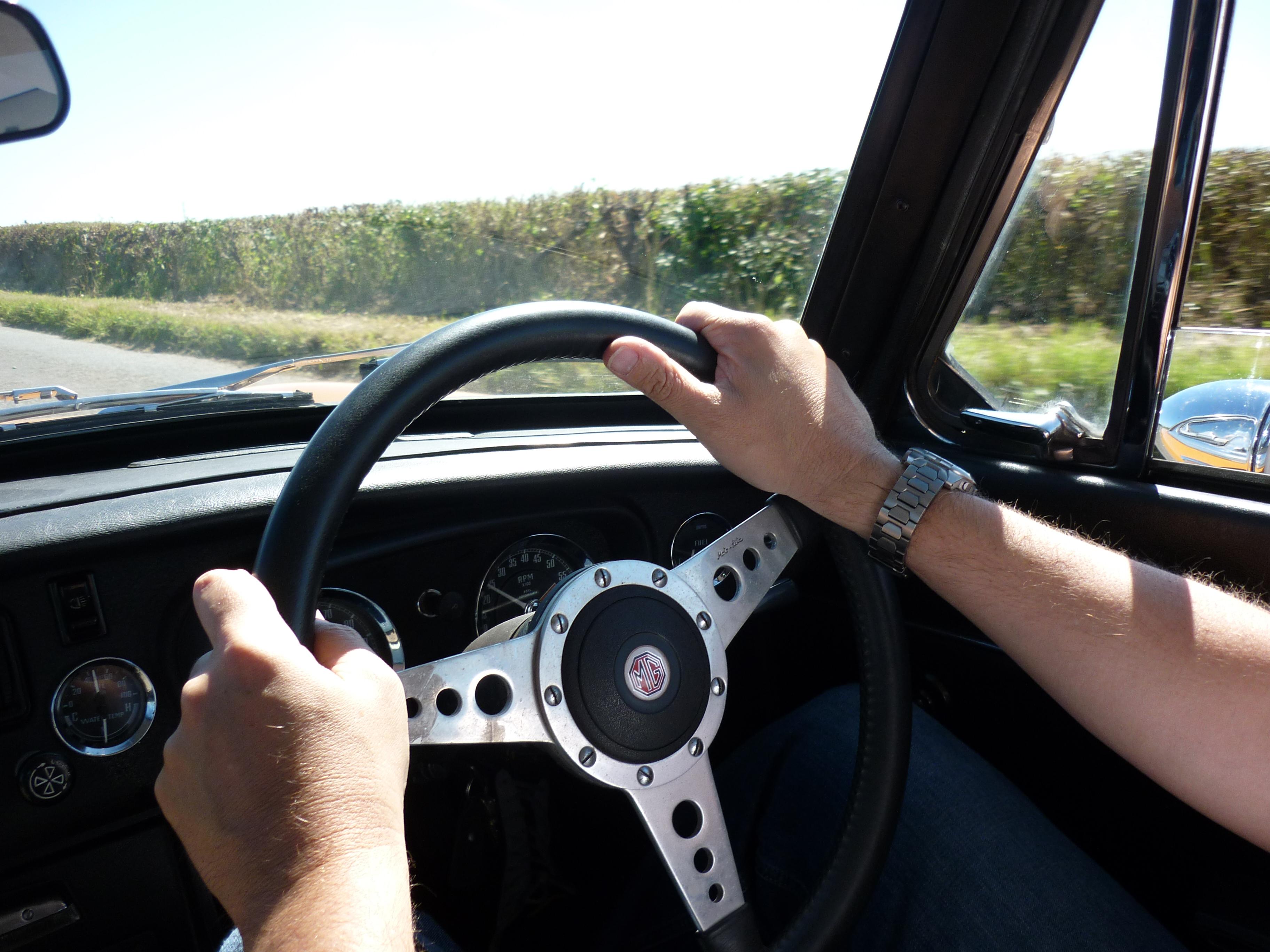 MGB GT Driven