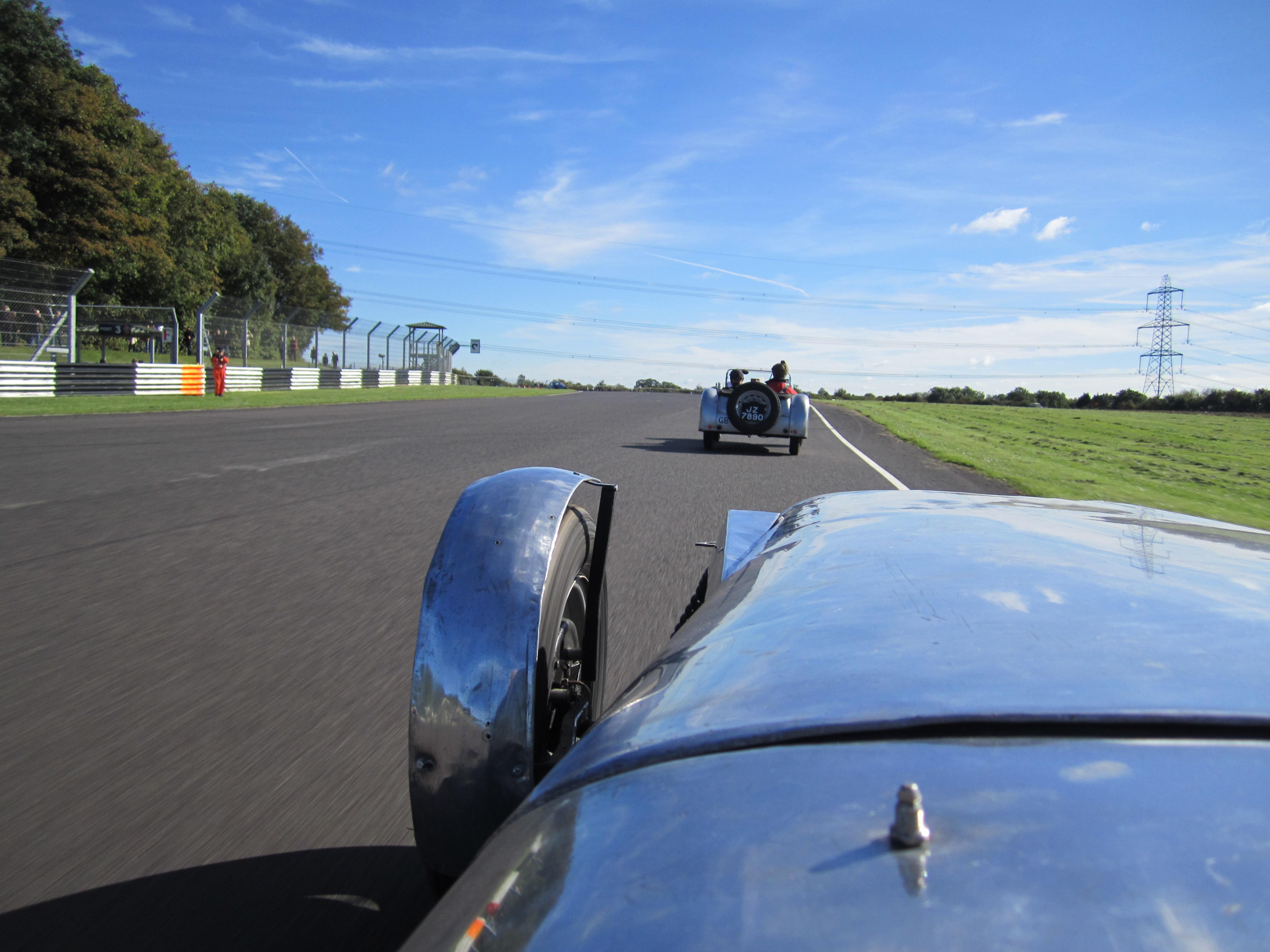 Lotus MK6's enjoying the parade lap