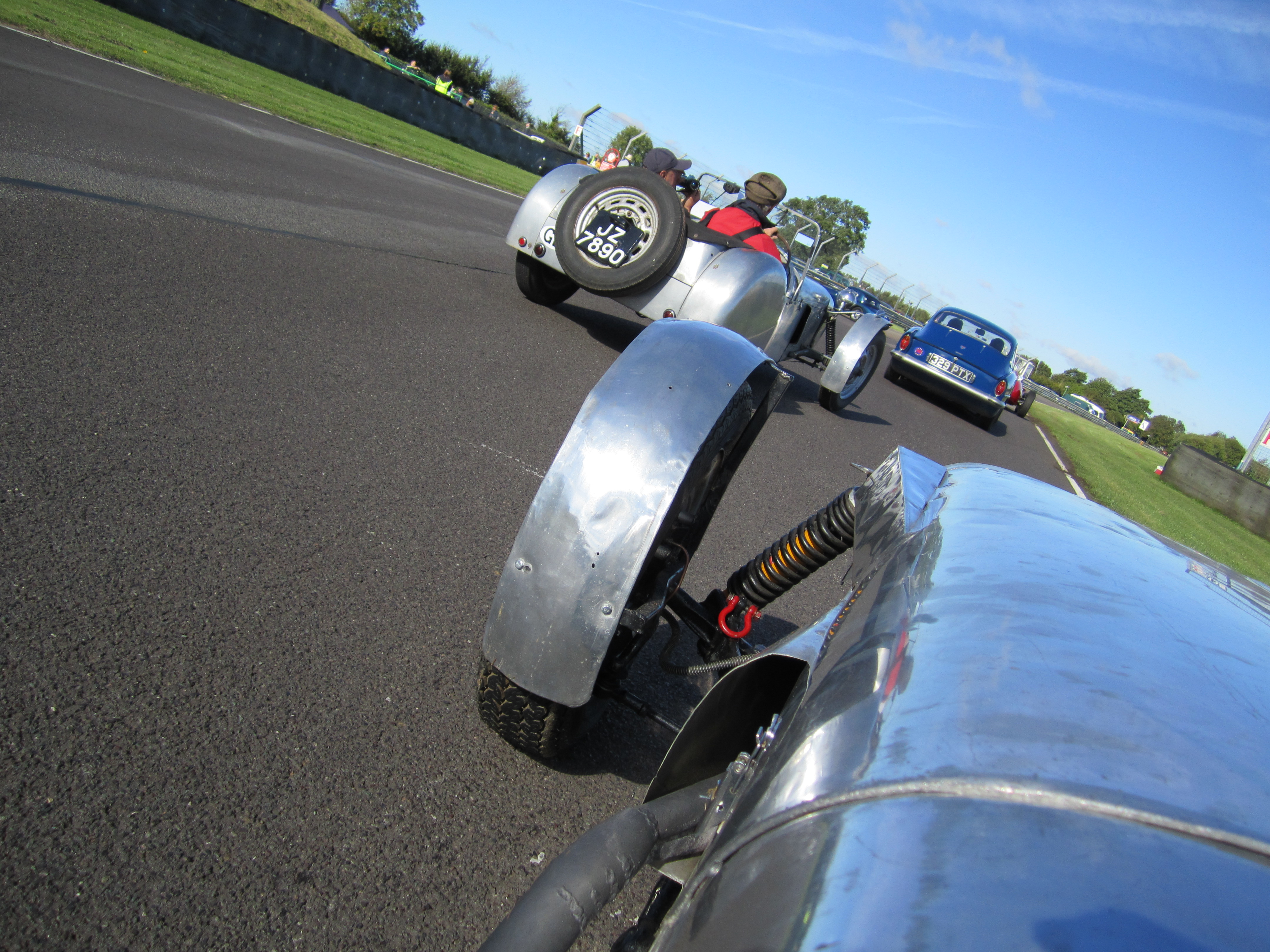 On-track in the Lotus MK6