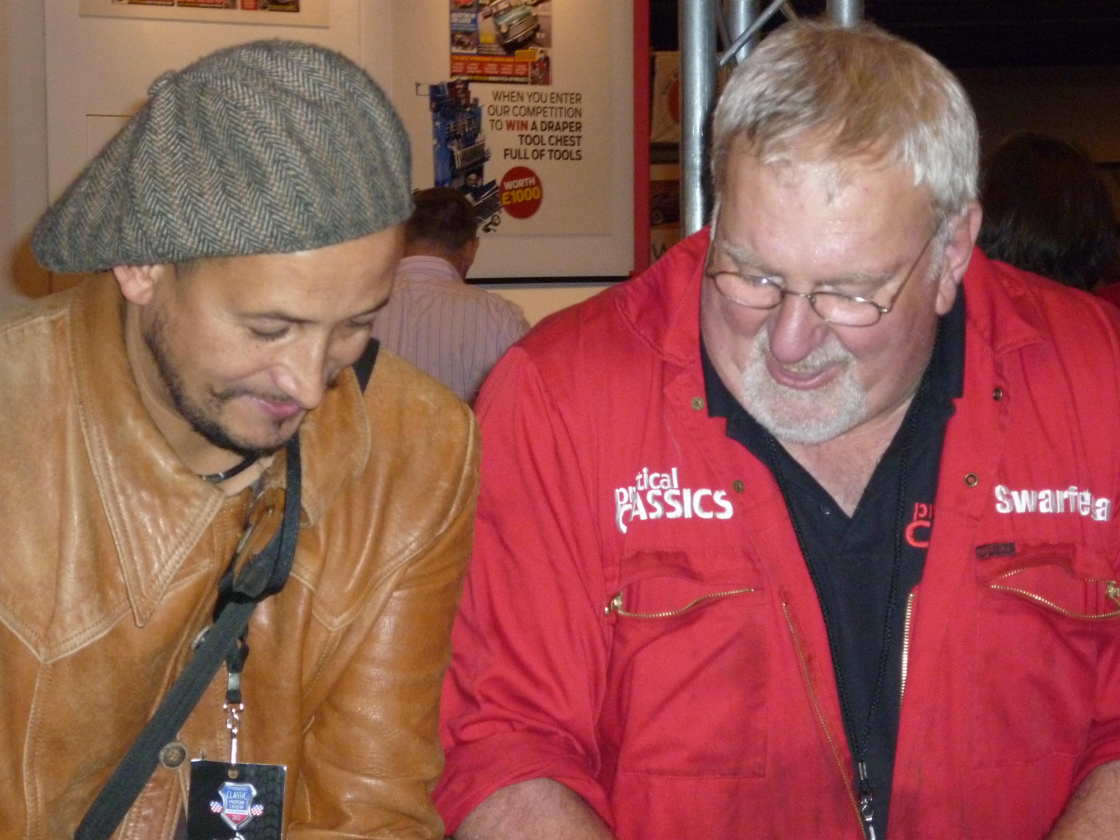 Fuzz Townshend with John Simpson