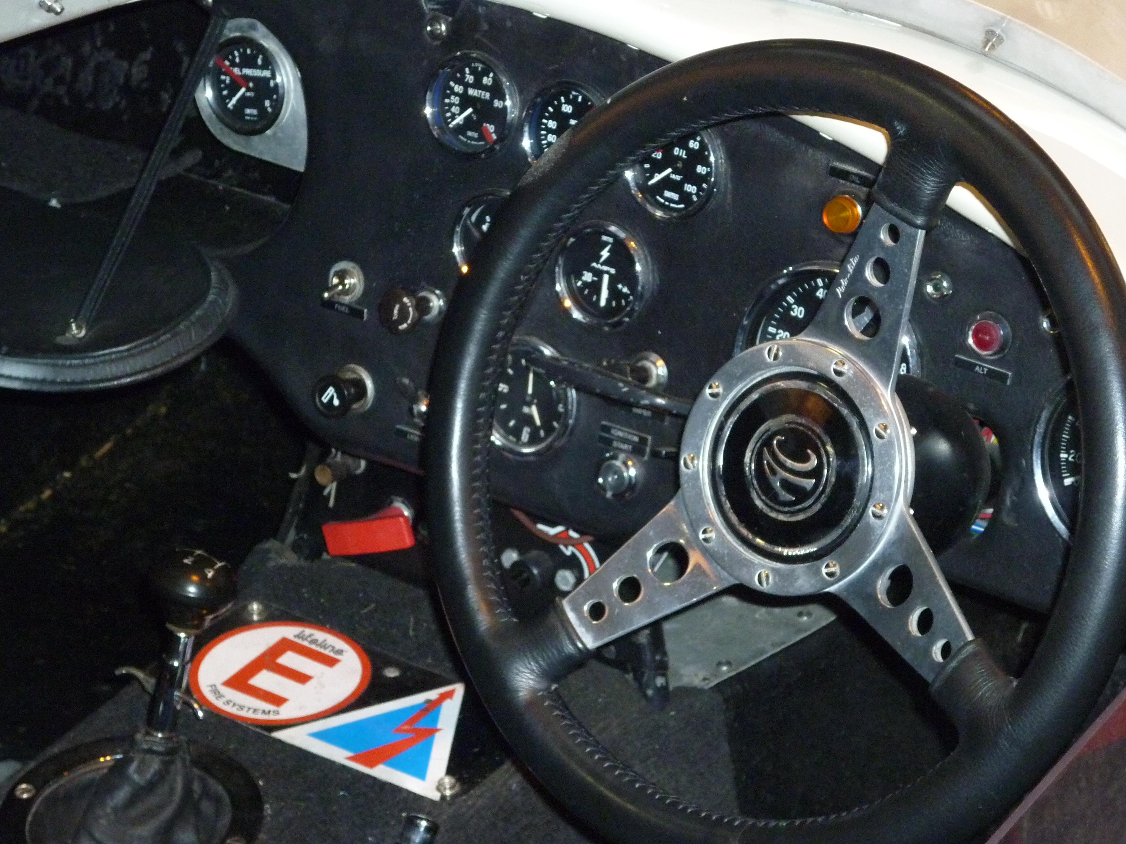 Inside a Race Prepared Cobra
