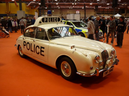 Early Jaguar Police Car