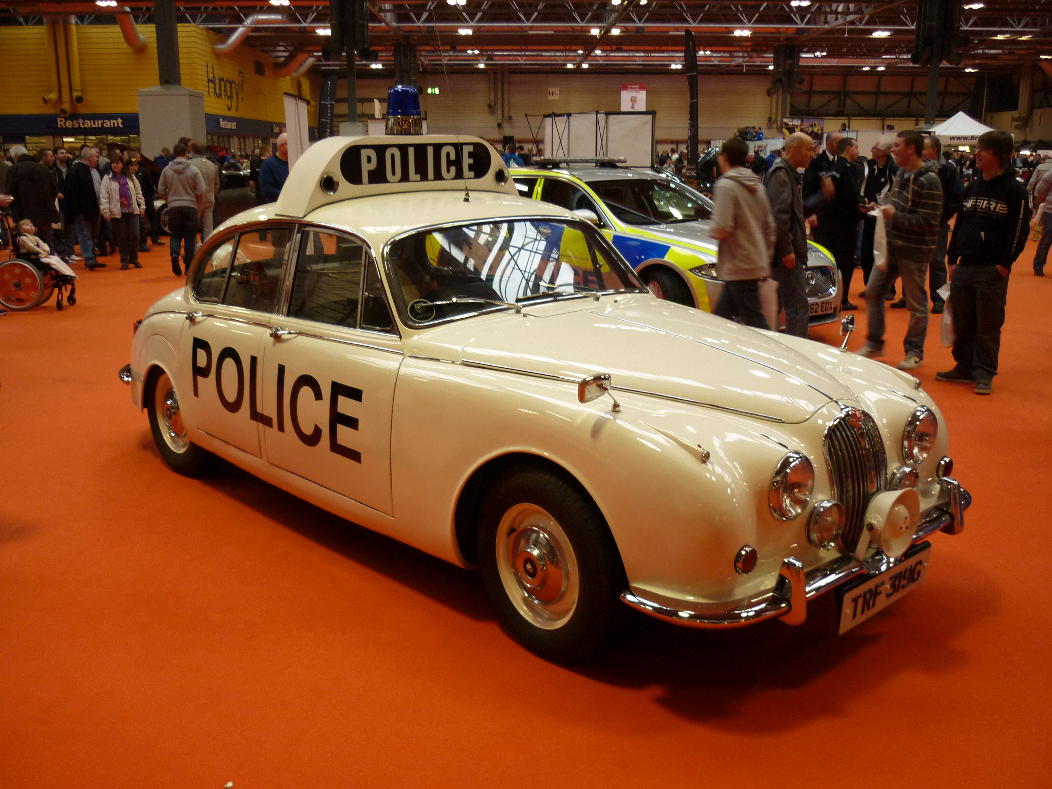 Early Jaguar Police Car