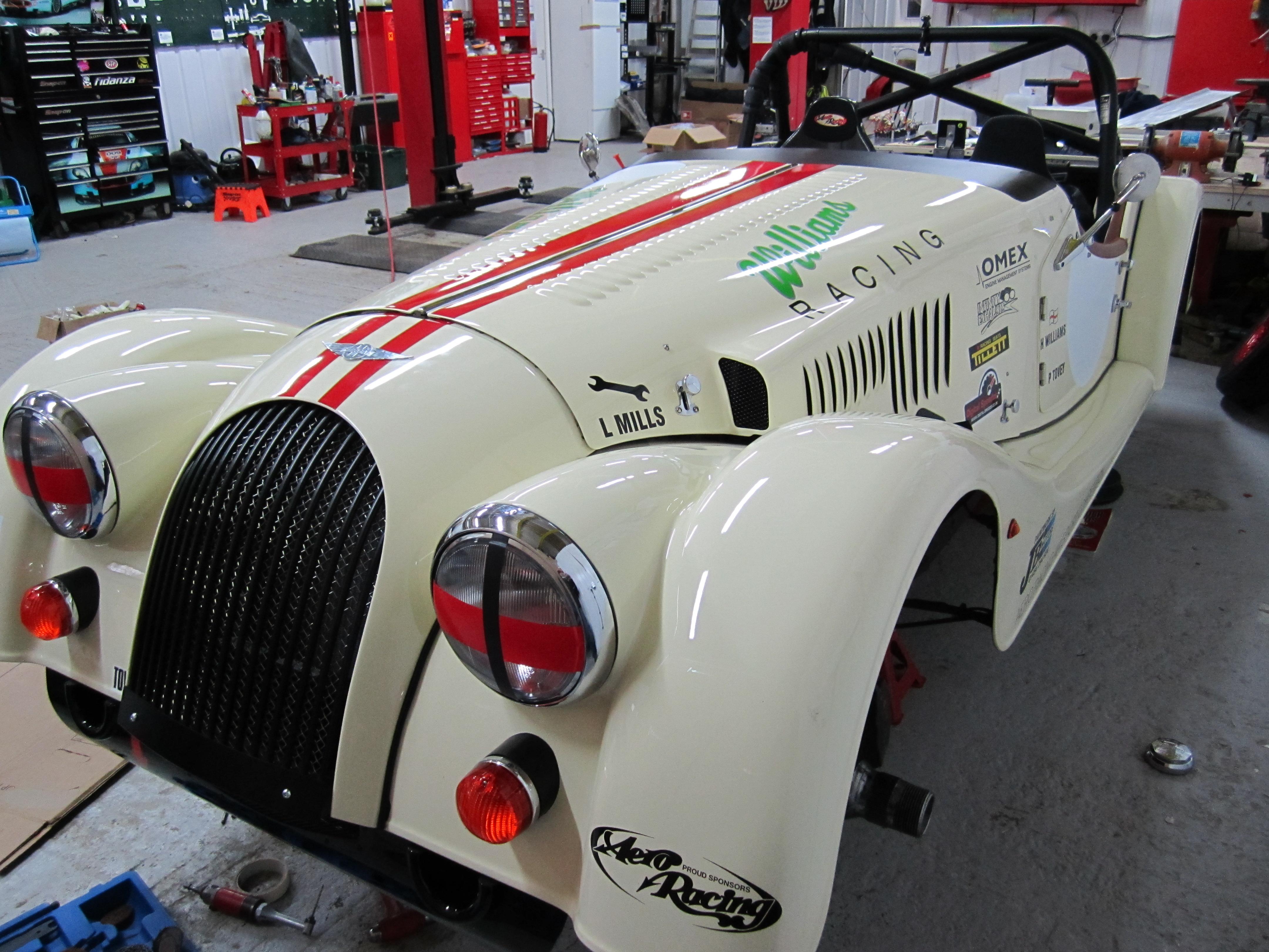 Morgan 4/4 Race Car
