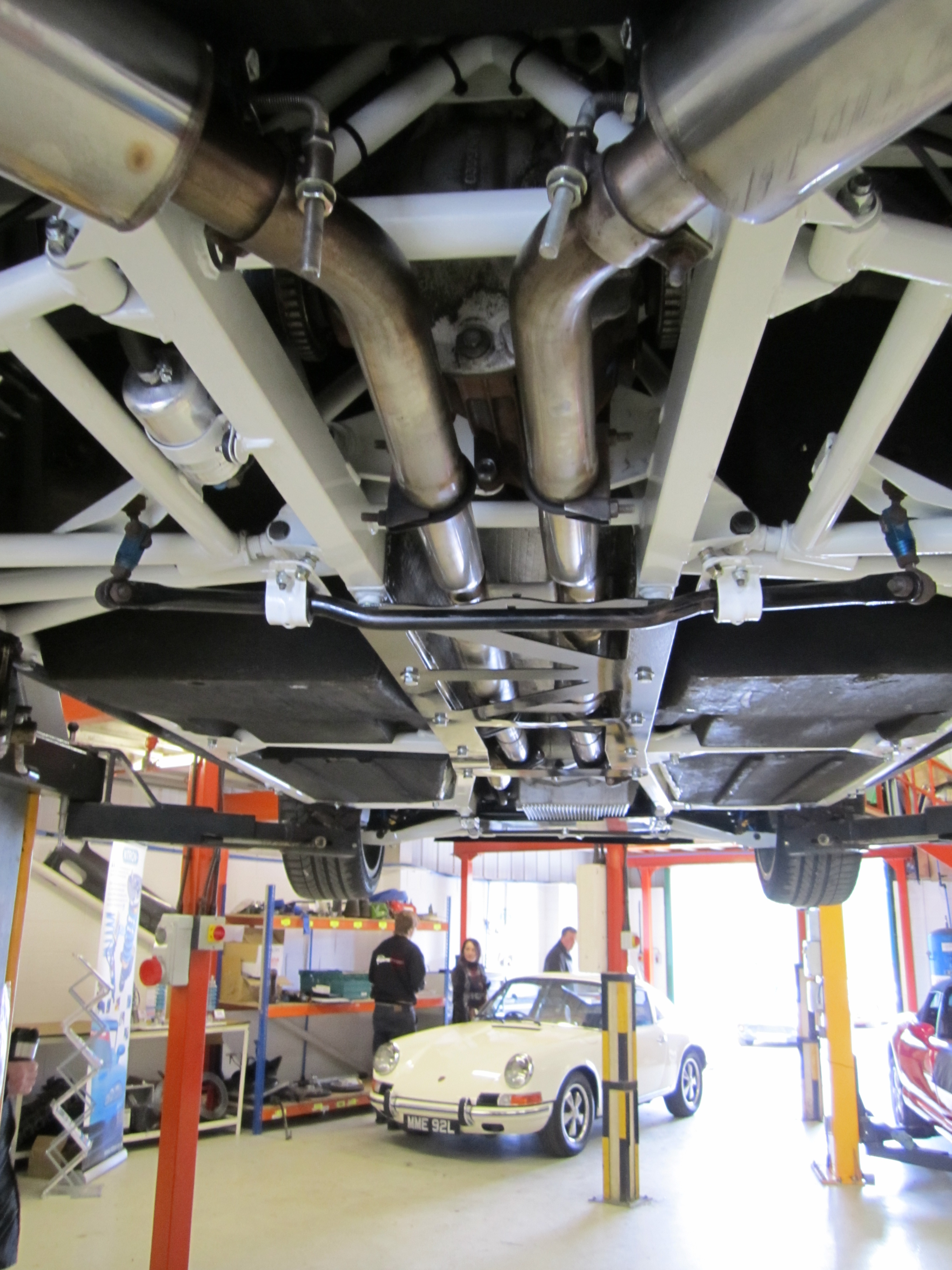Beautifully Prepared TVR Chassis