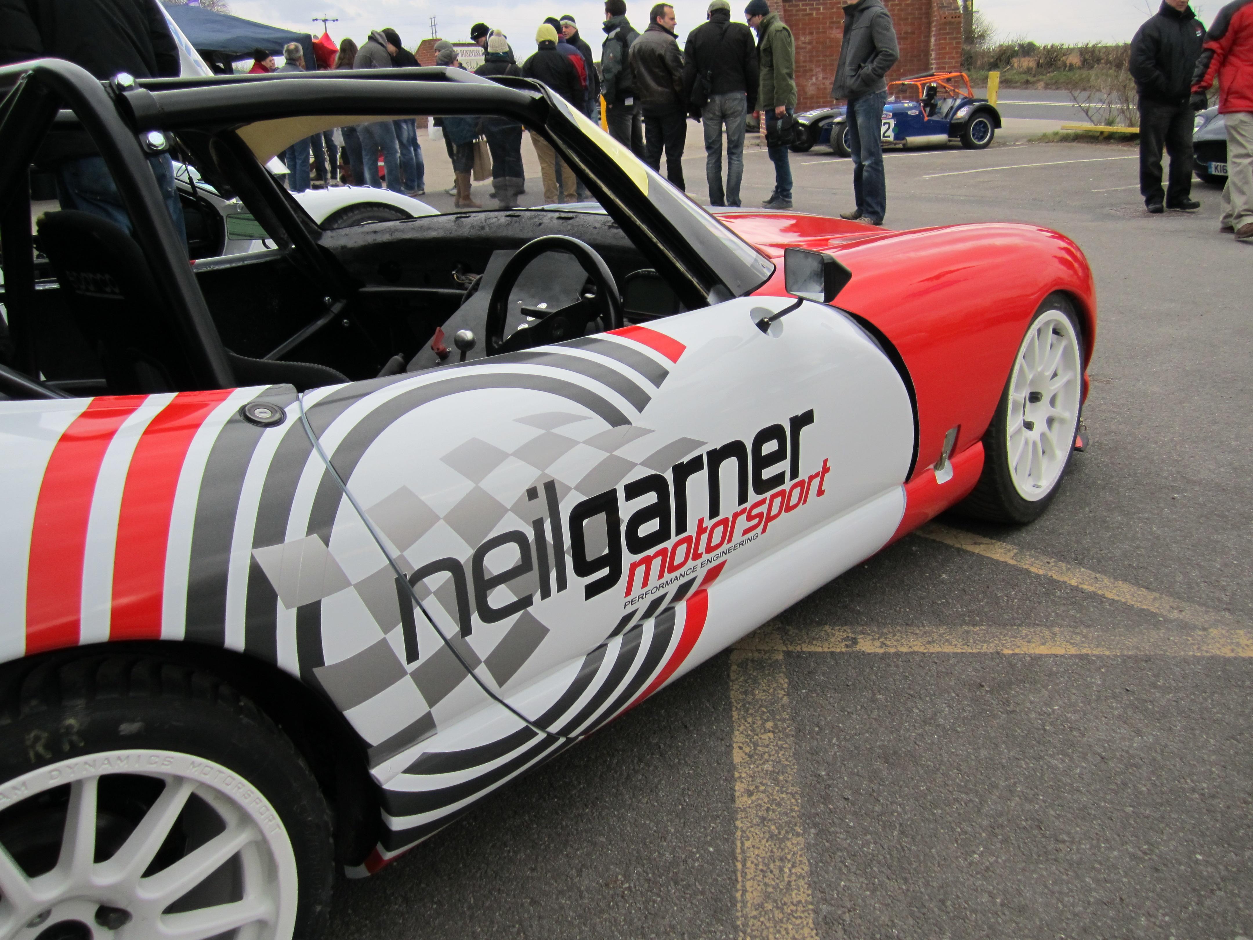 Garner Lightweight Chimaera Racecar
