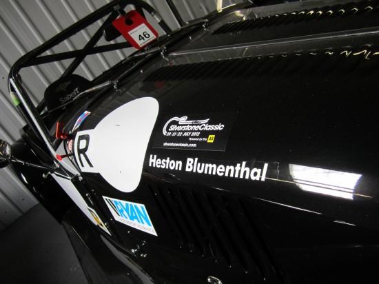 Heston Blumenthal's 2012 Silverstone Classic ride