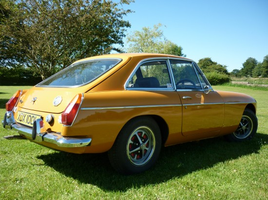 MG BGT is by its very nature a Practical Classic