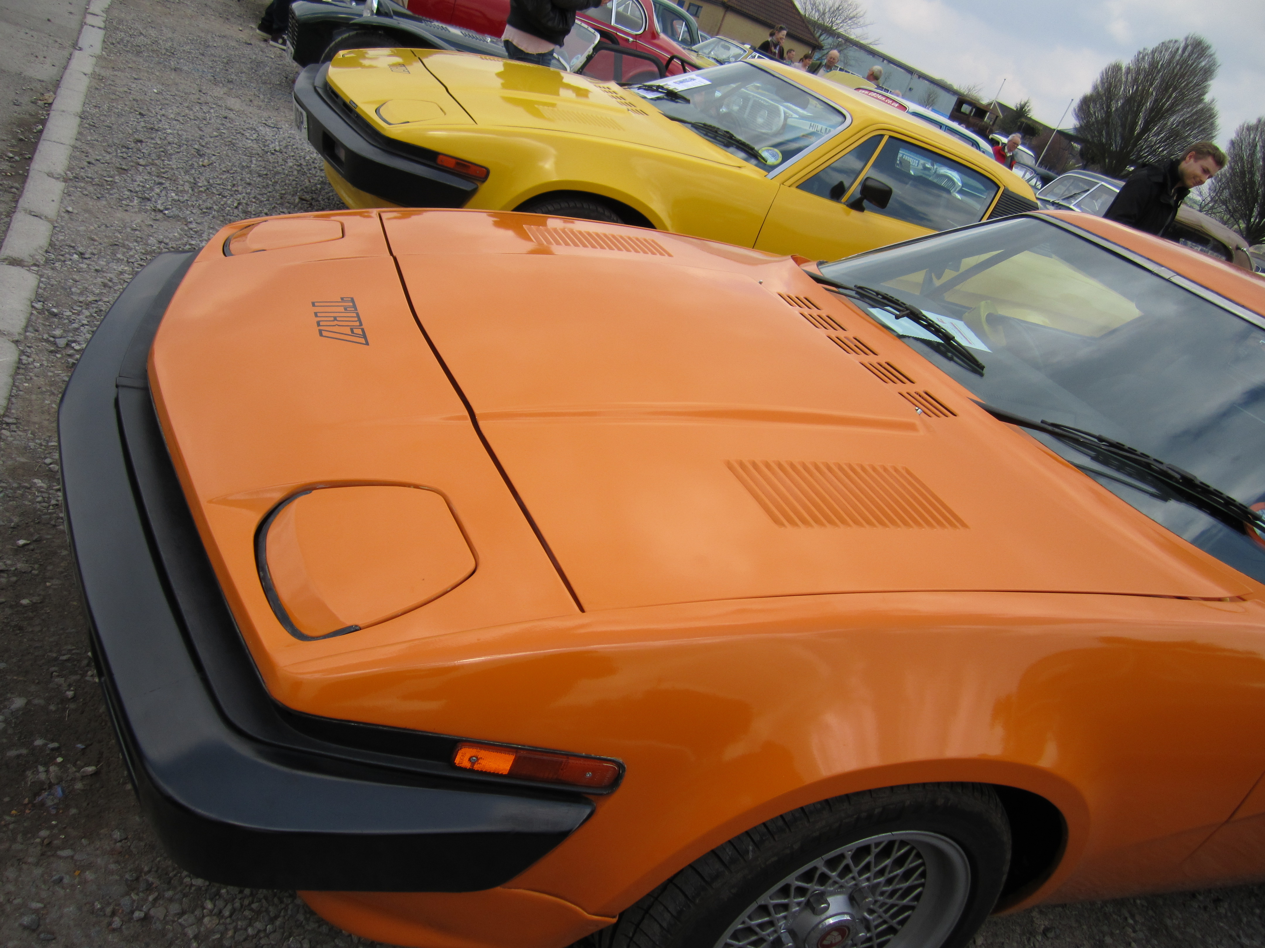 Two TR7's