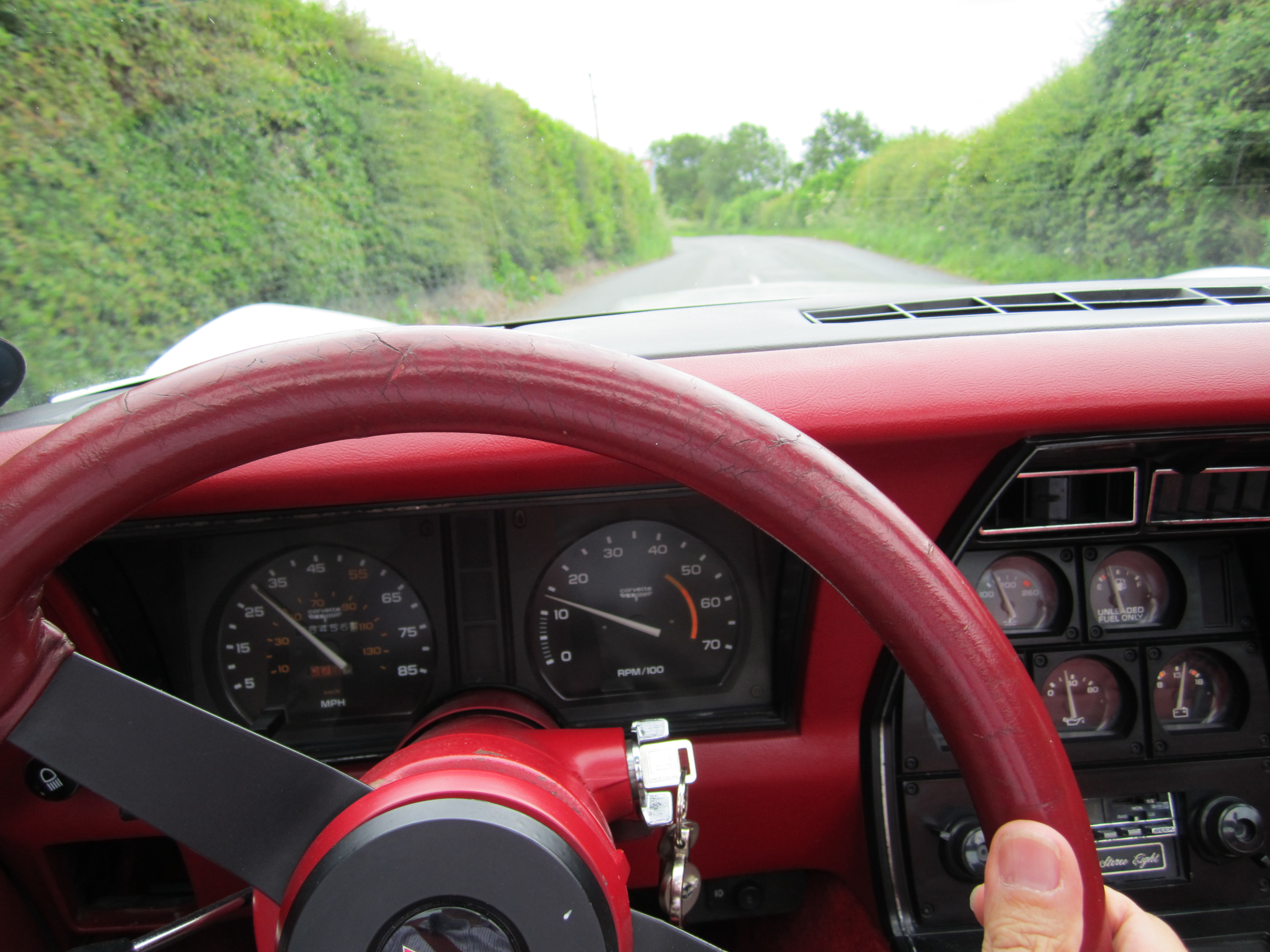 Drivers eye view