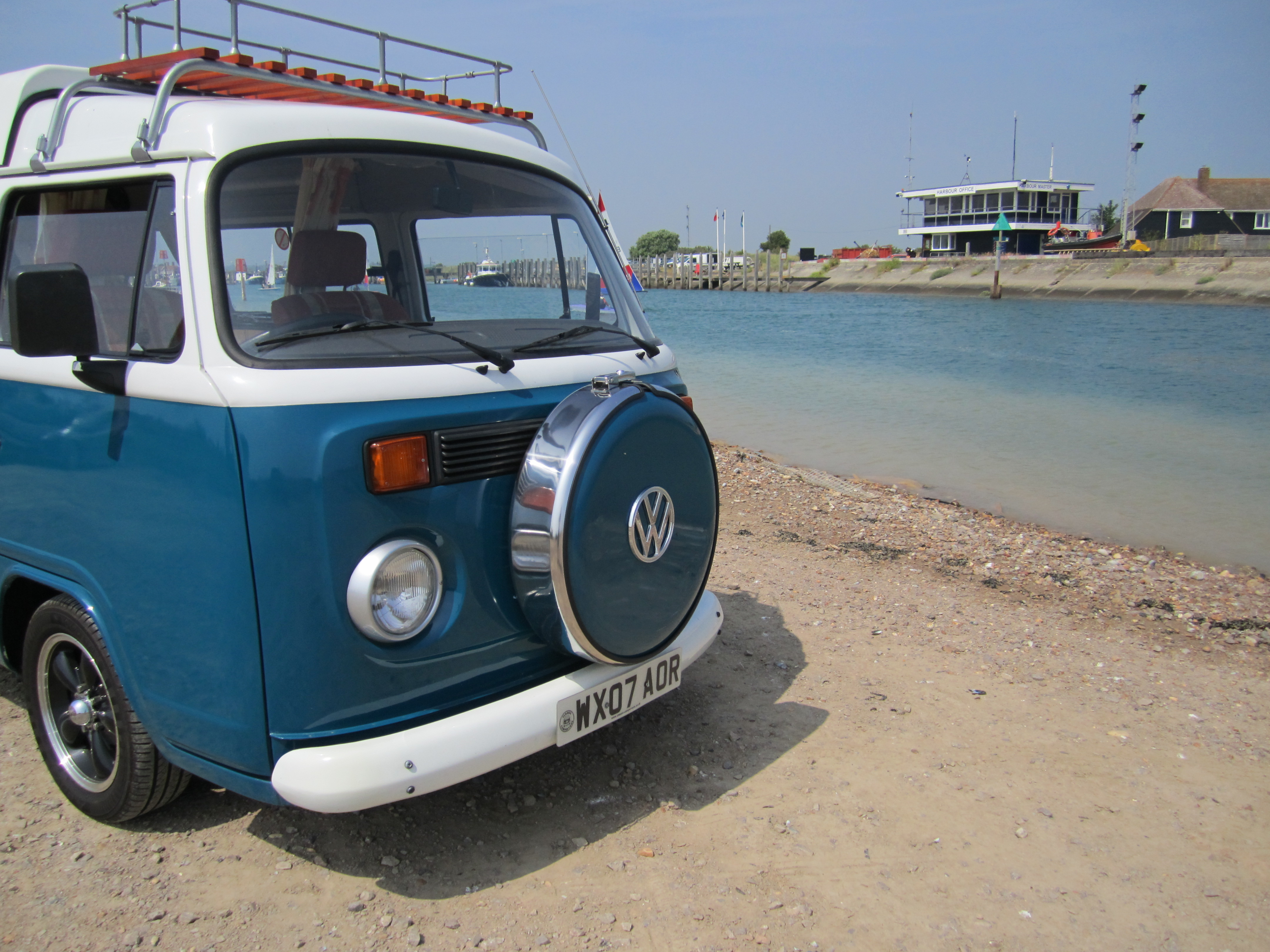 T2 Camper by the sea