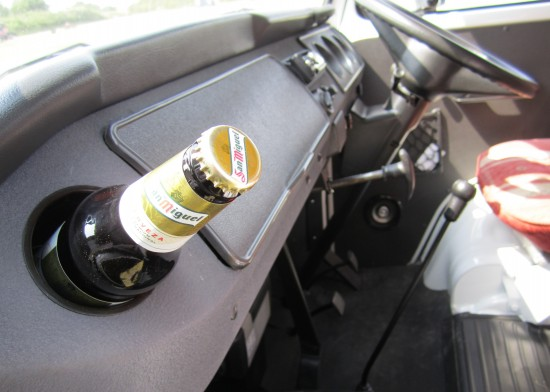 Top Tip: Remove Air Vent to cool your beer en-route