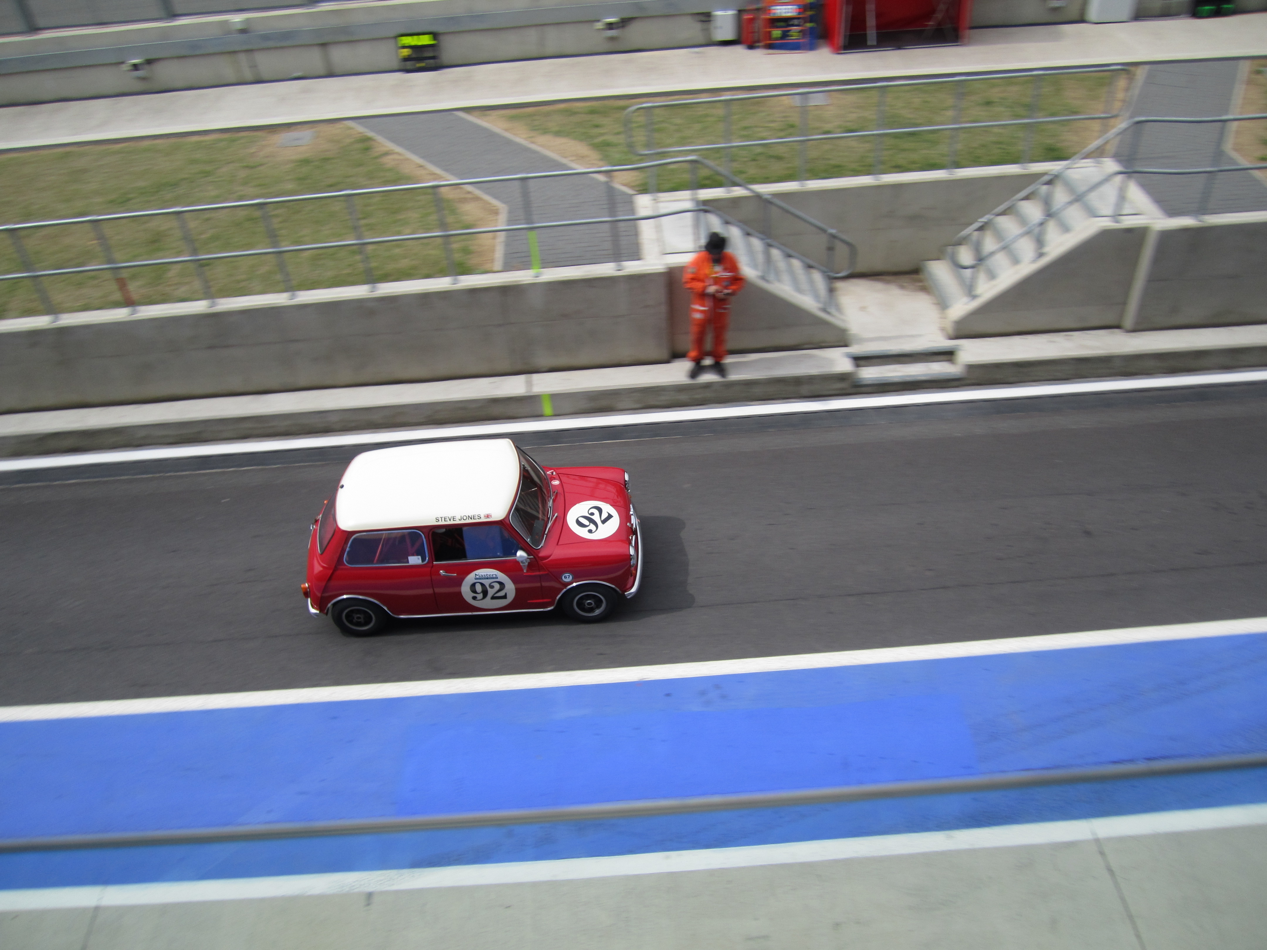 Mini viewed from on high