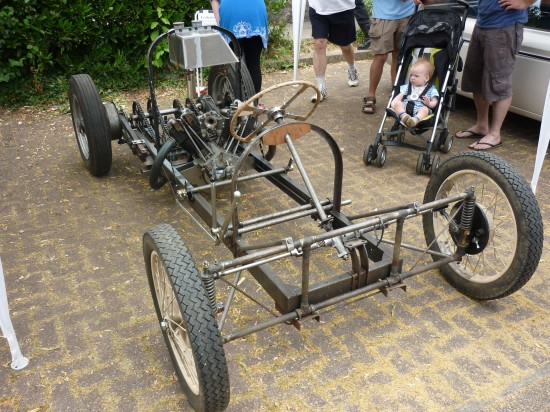 Frenchay Vintage Vehicle Show' is being restored
