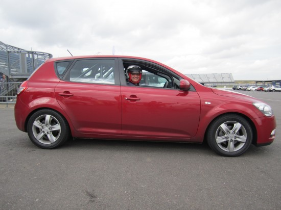 One of three Kia Cee'ds to survive Top Gears 'Star in a reasonably priced car'