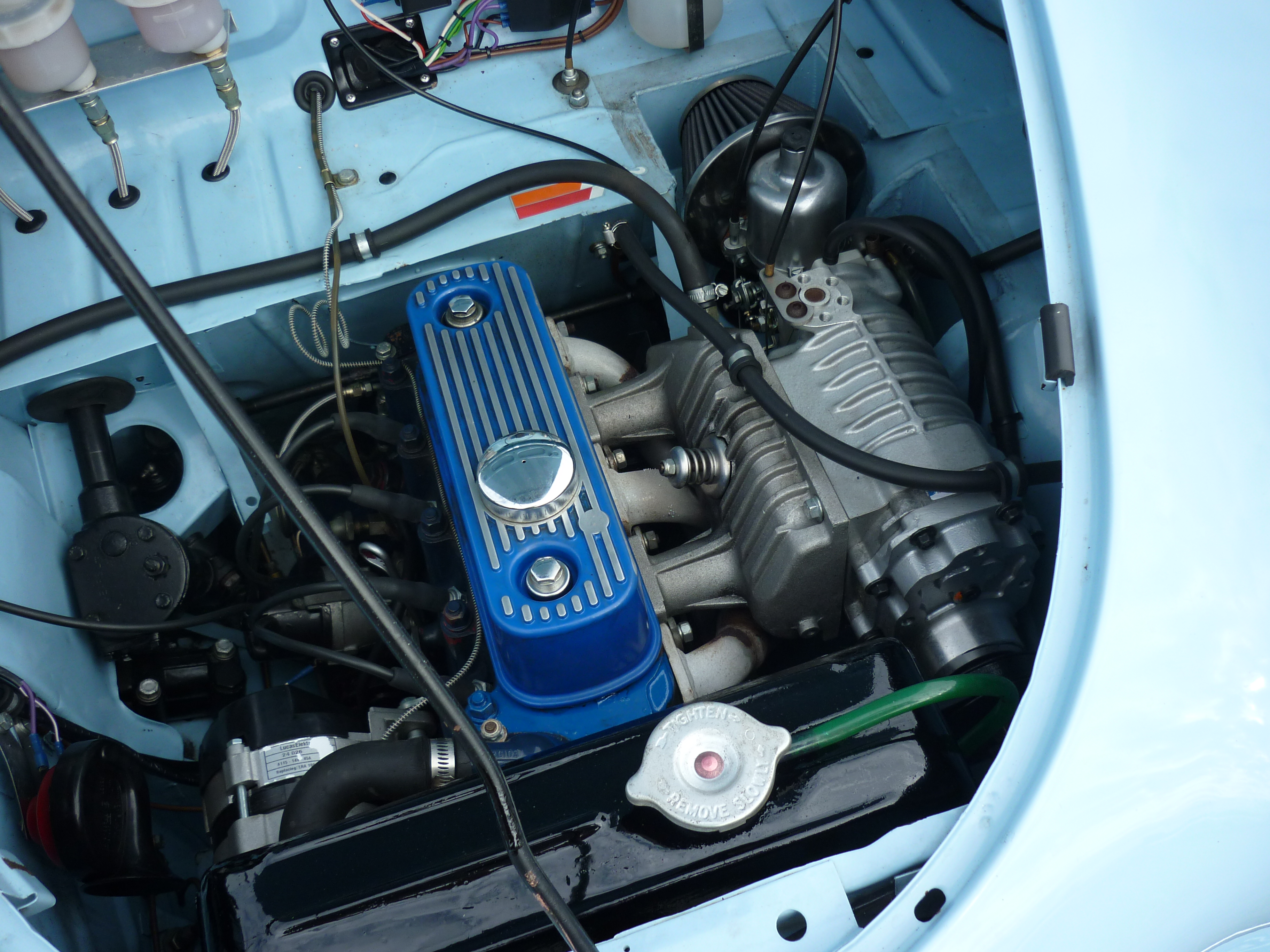 Supercharger in A35