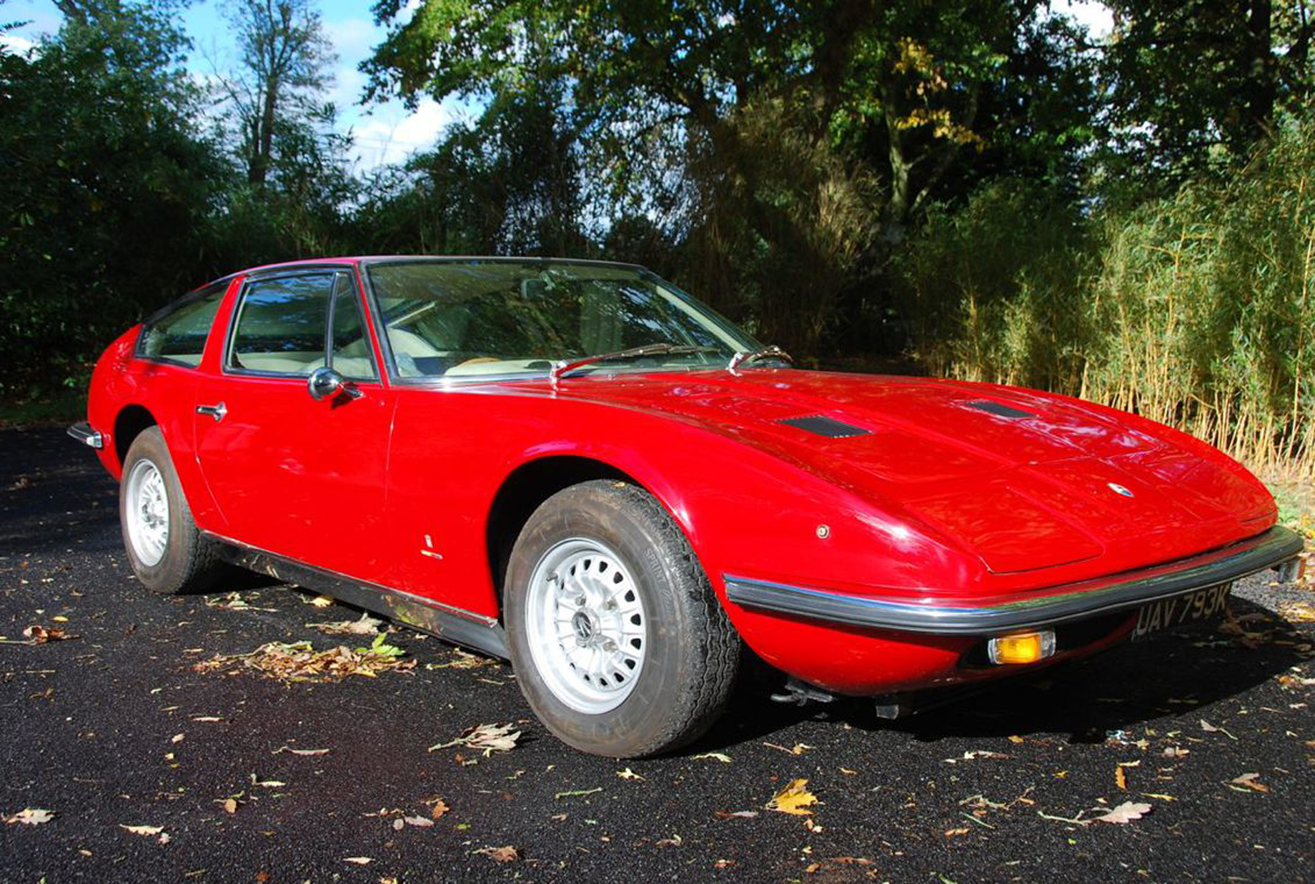 Silverstone Auctions 1972 Maserati Indy America