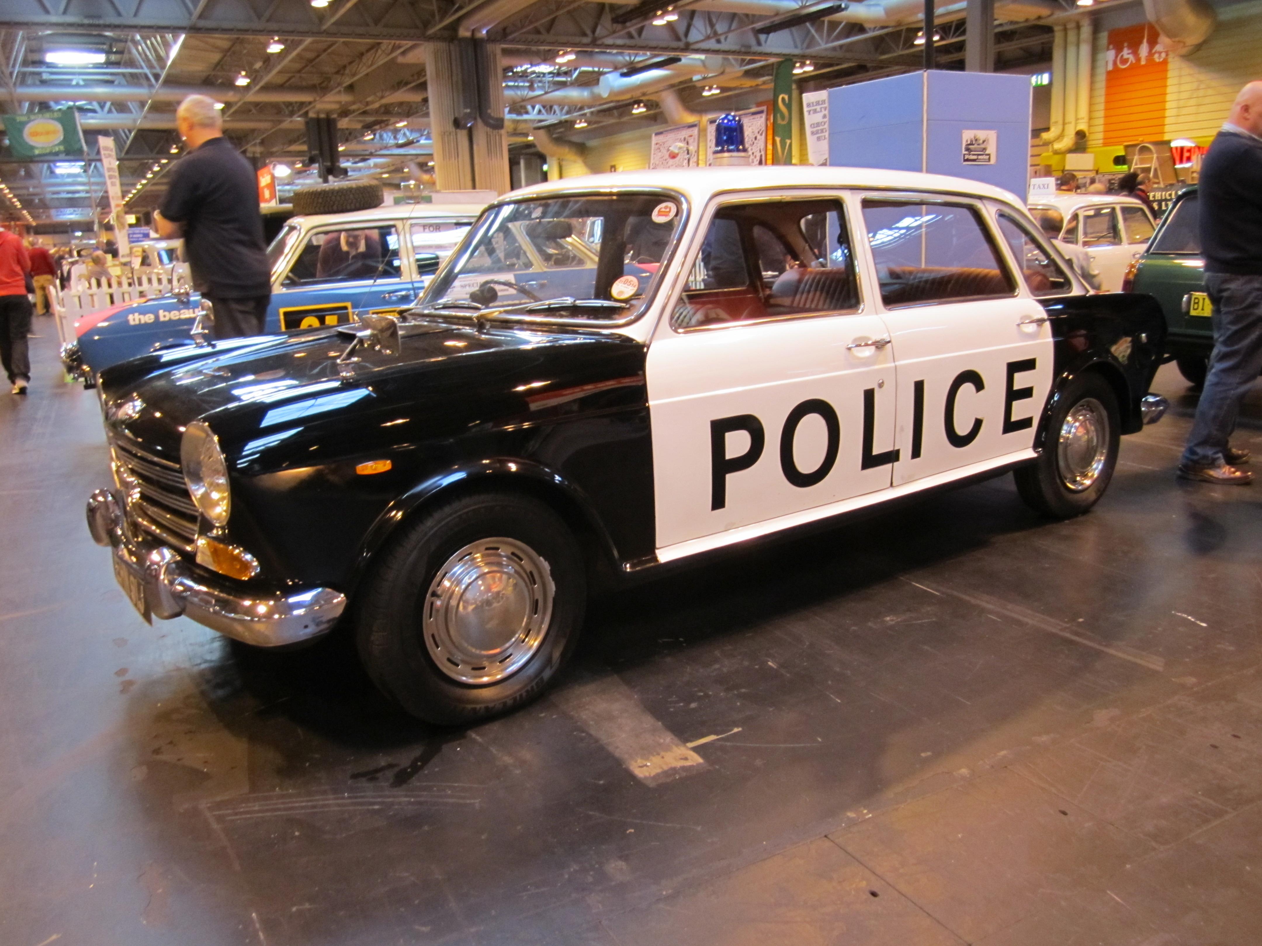 Landcrab Police Car