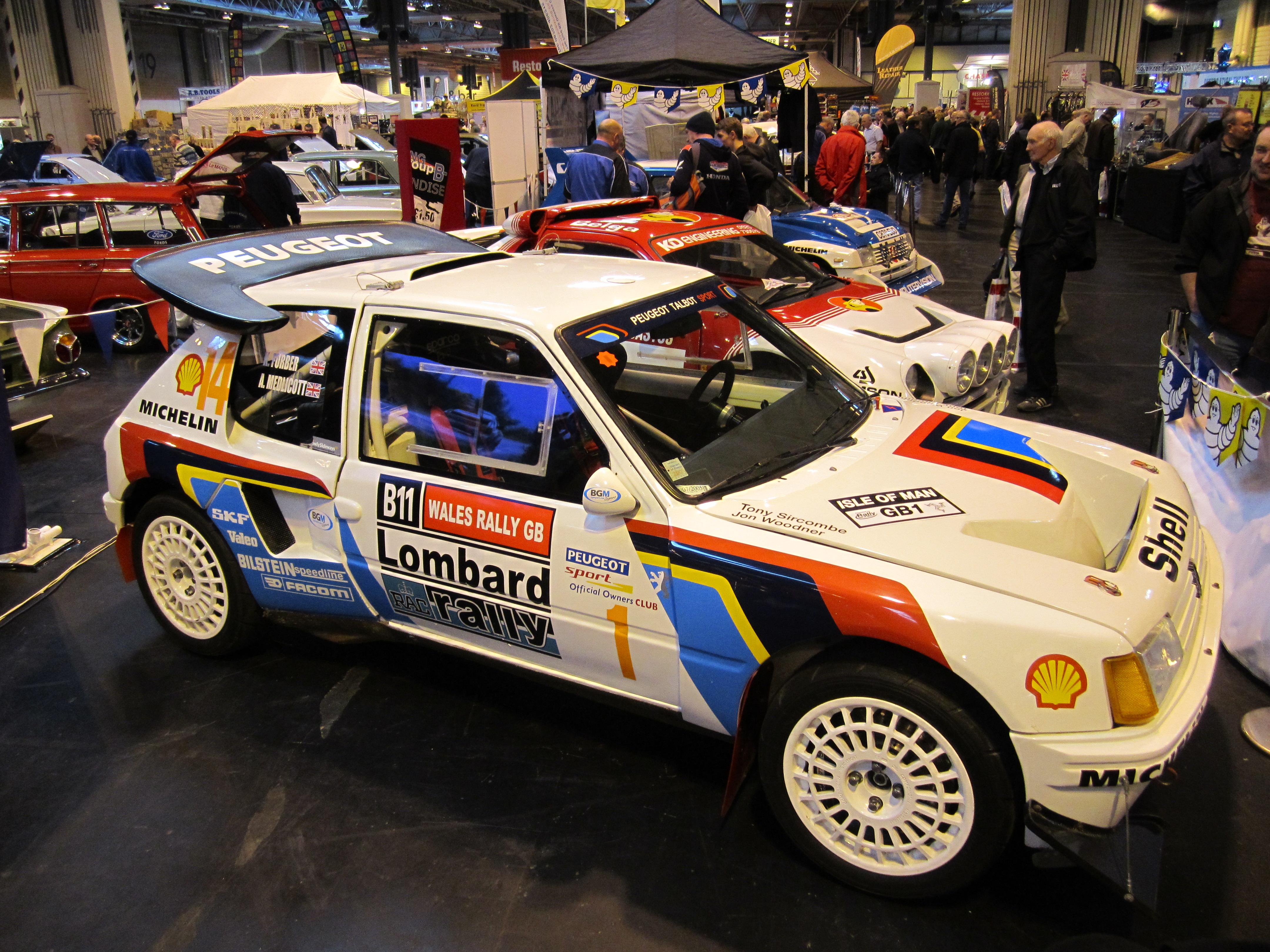 205 Group B Rally Car