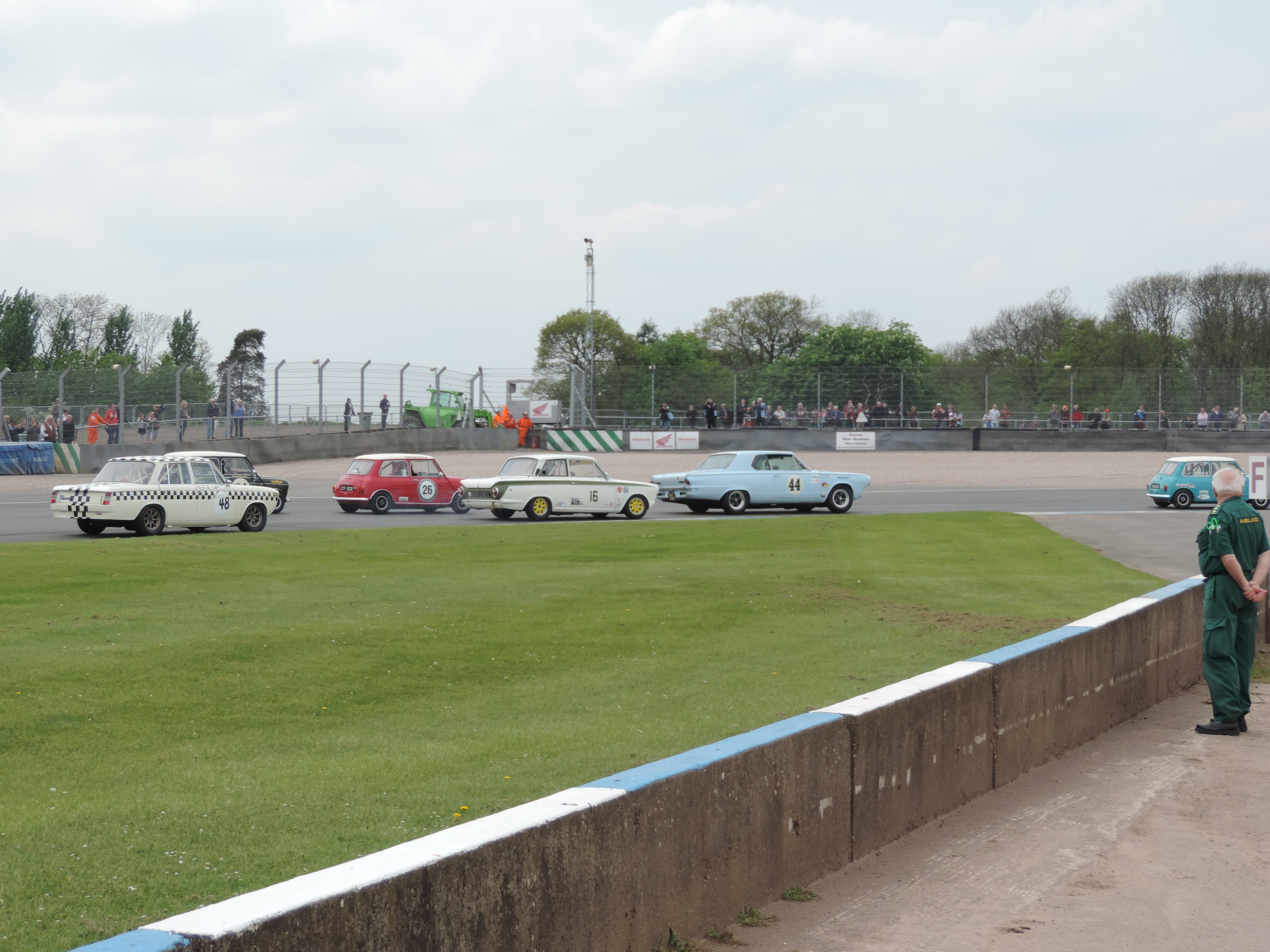 Touring Cars into Redgate