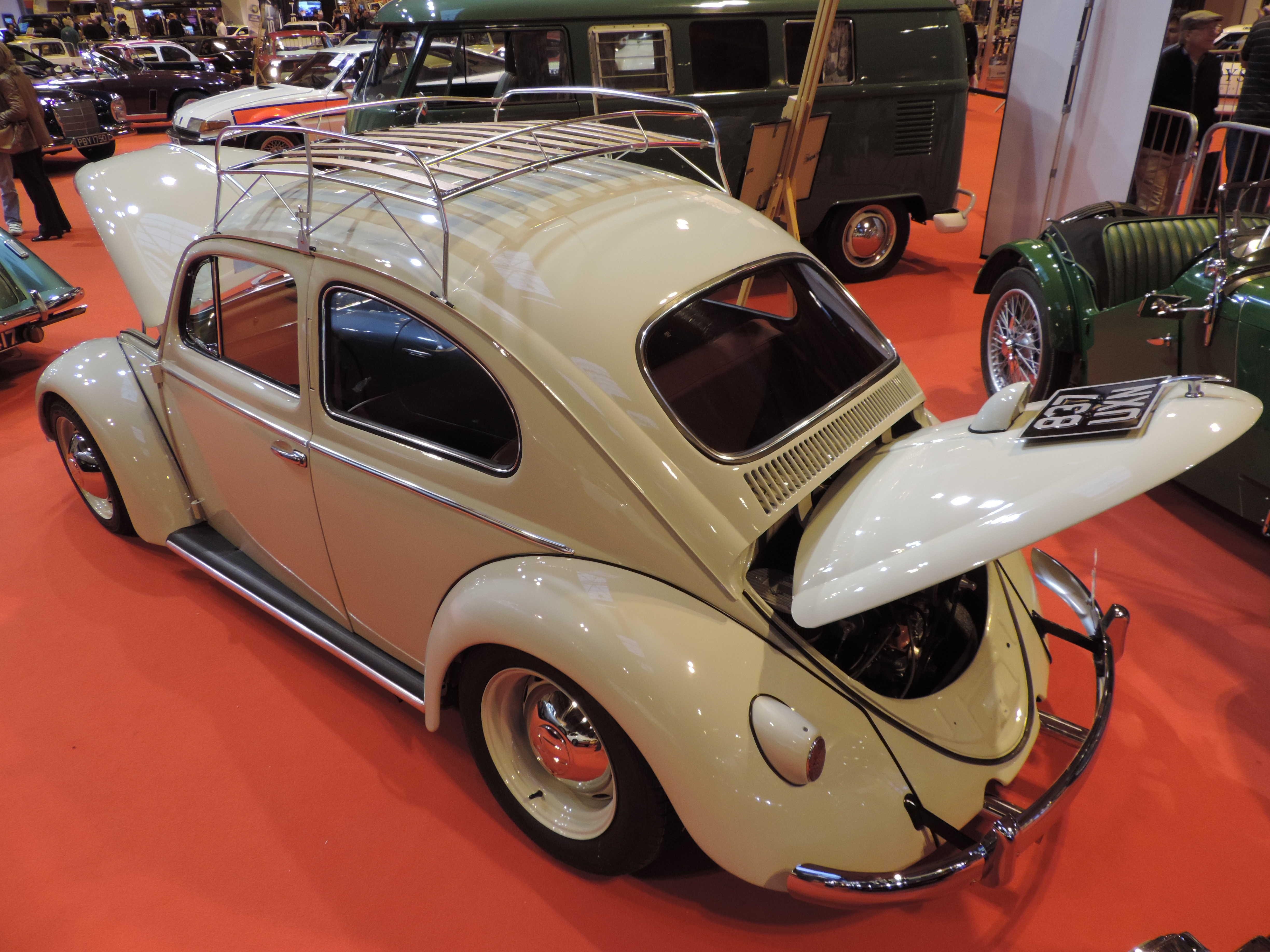 Beetle so low