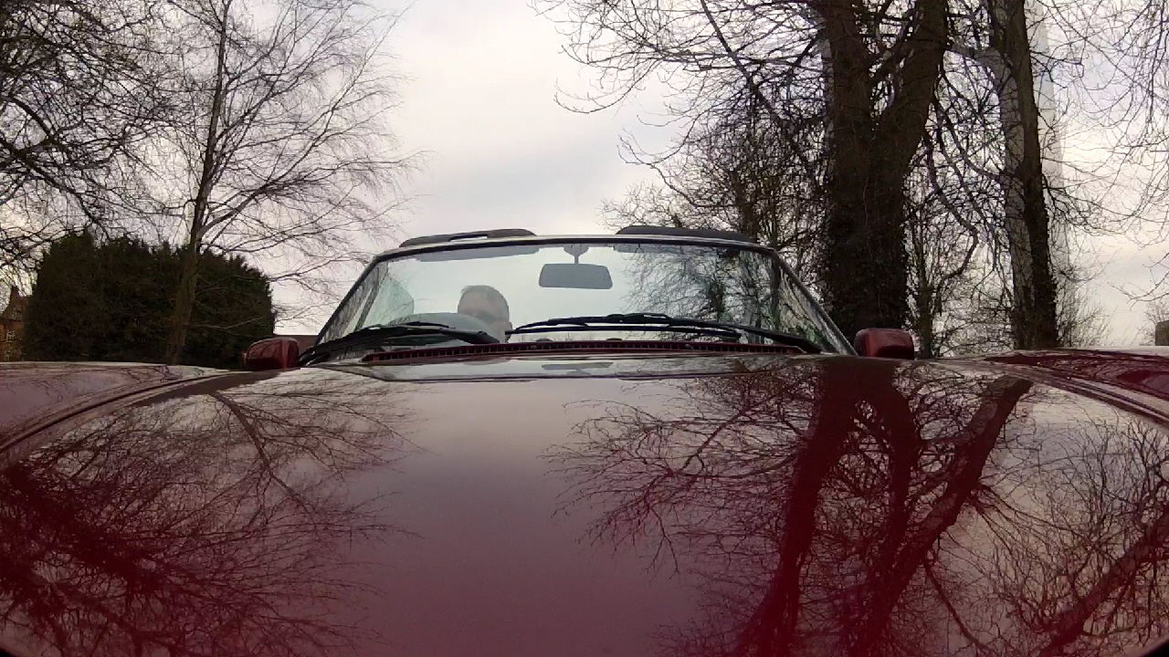 Alfa Romeo Spider Bonnet
