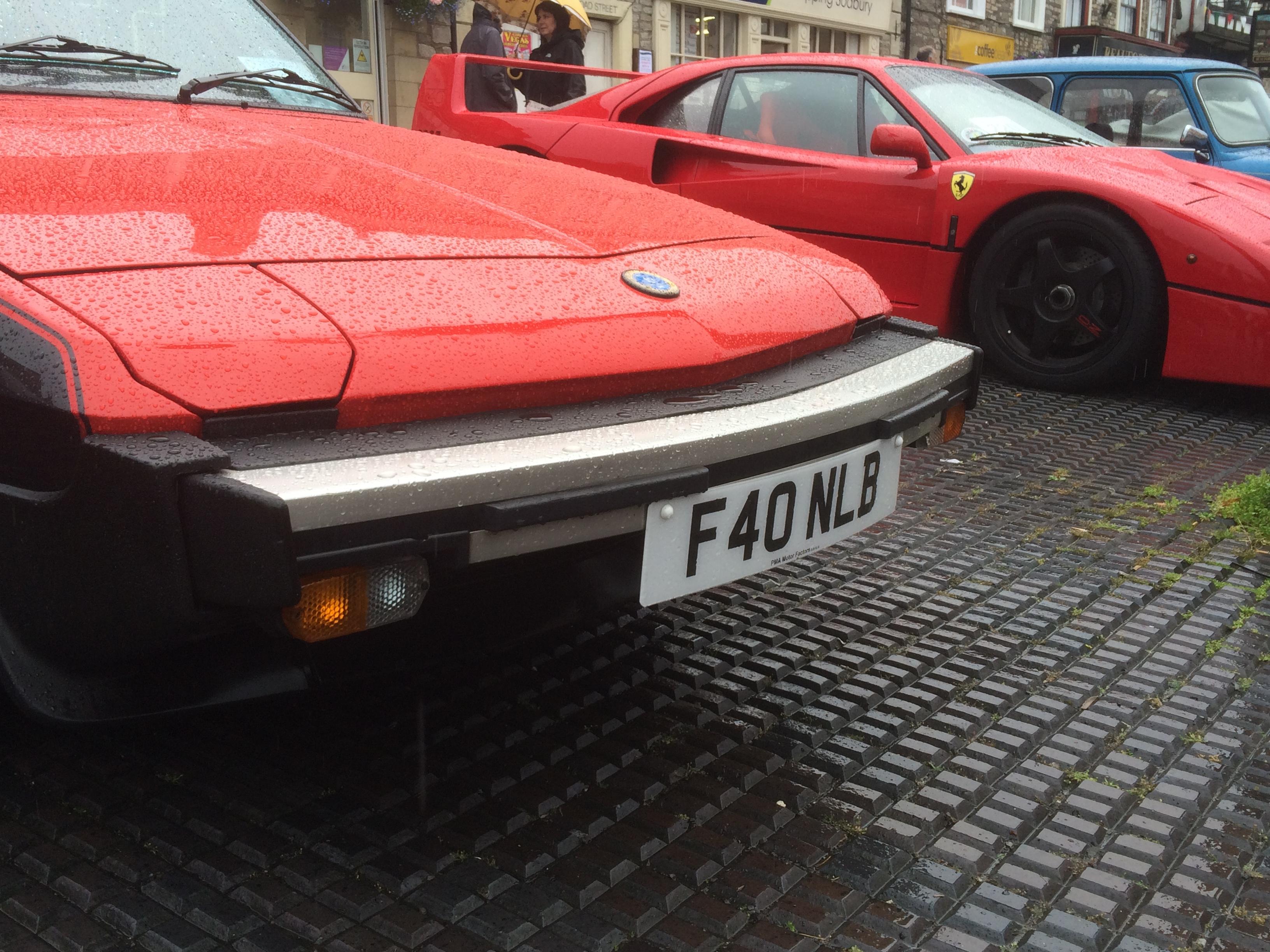 F40 Aspirations for Fiat X1/9