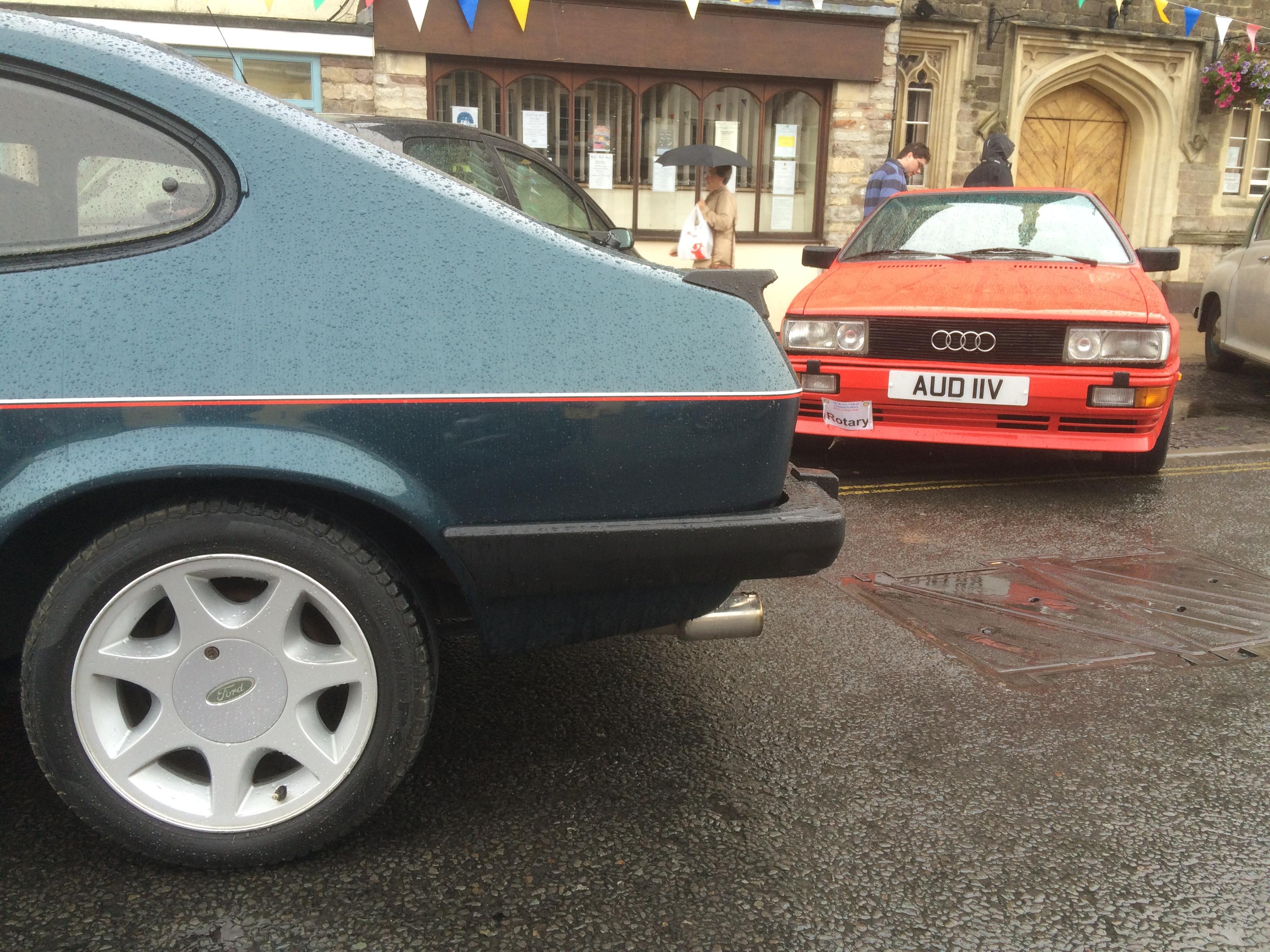 Brooklands Capri and Audi Quattro