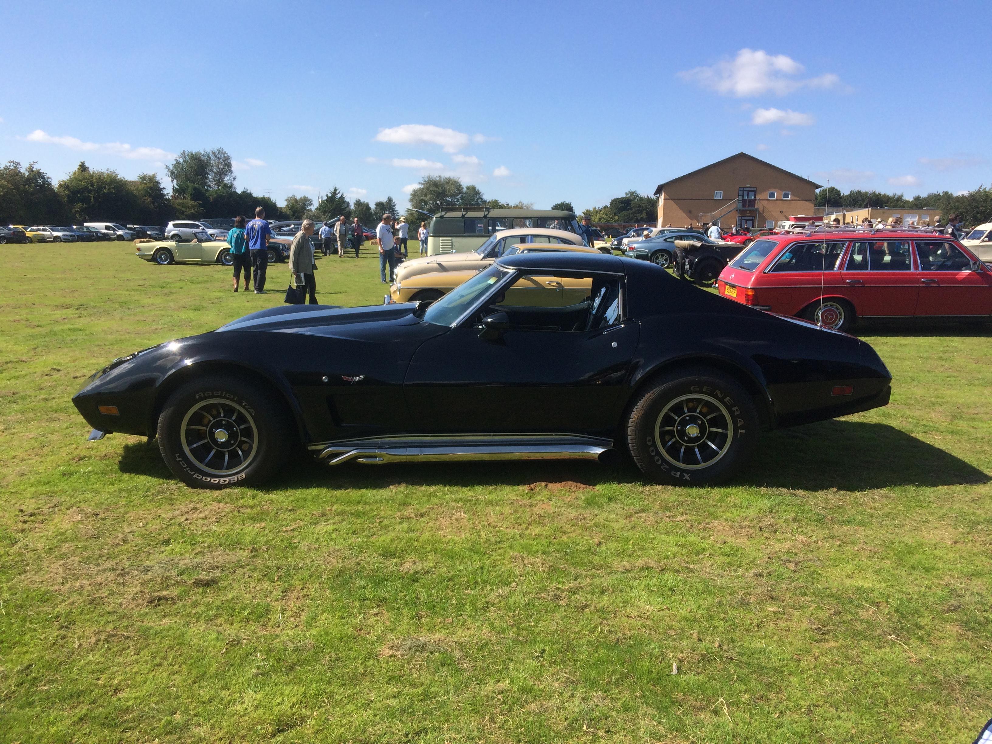 Corvette C3 unusually with a manual box