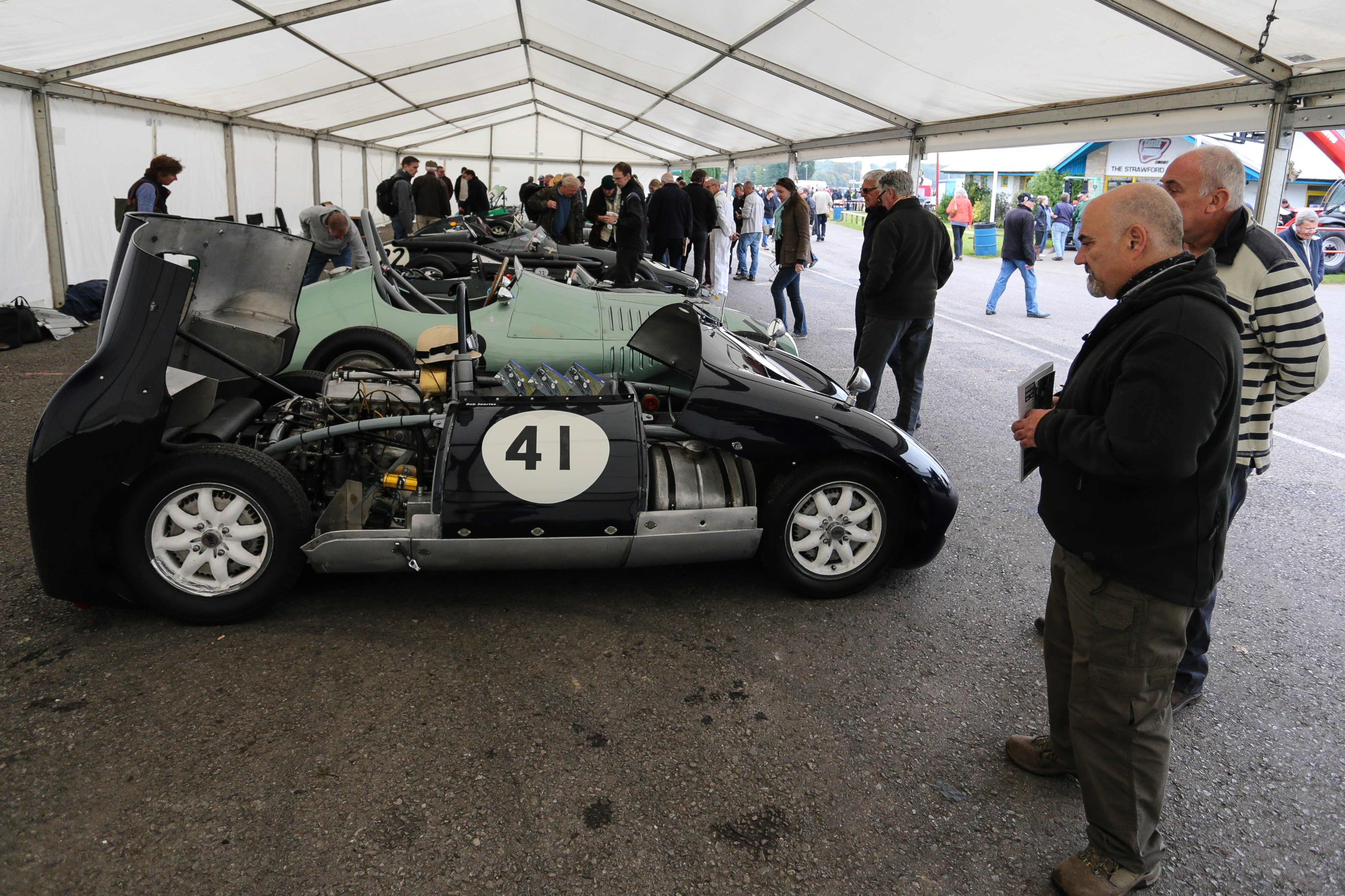 Goodwood Styled Paddock