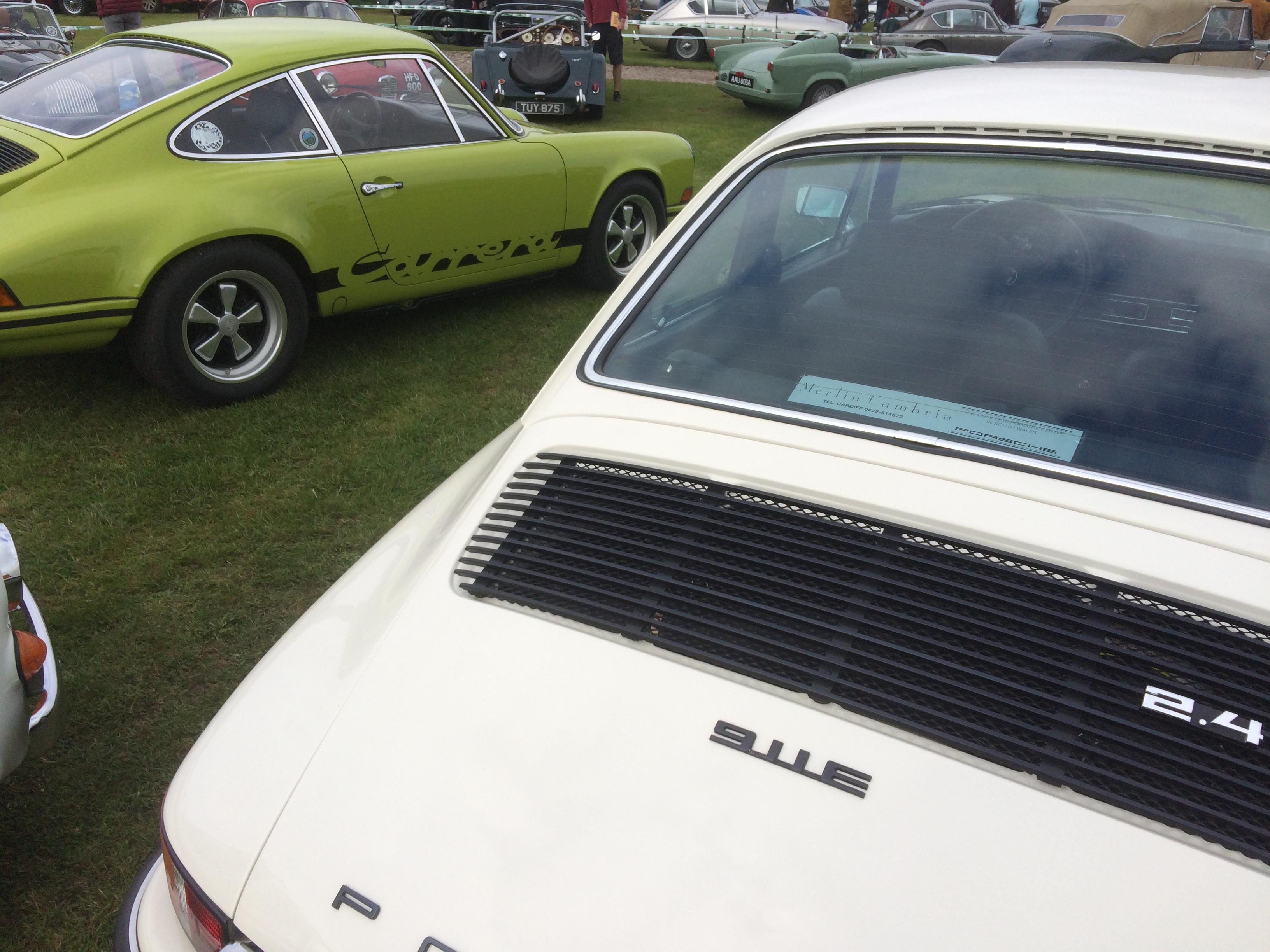 Porsche 911E and Rare RS