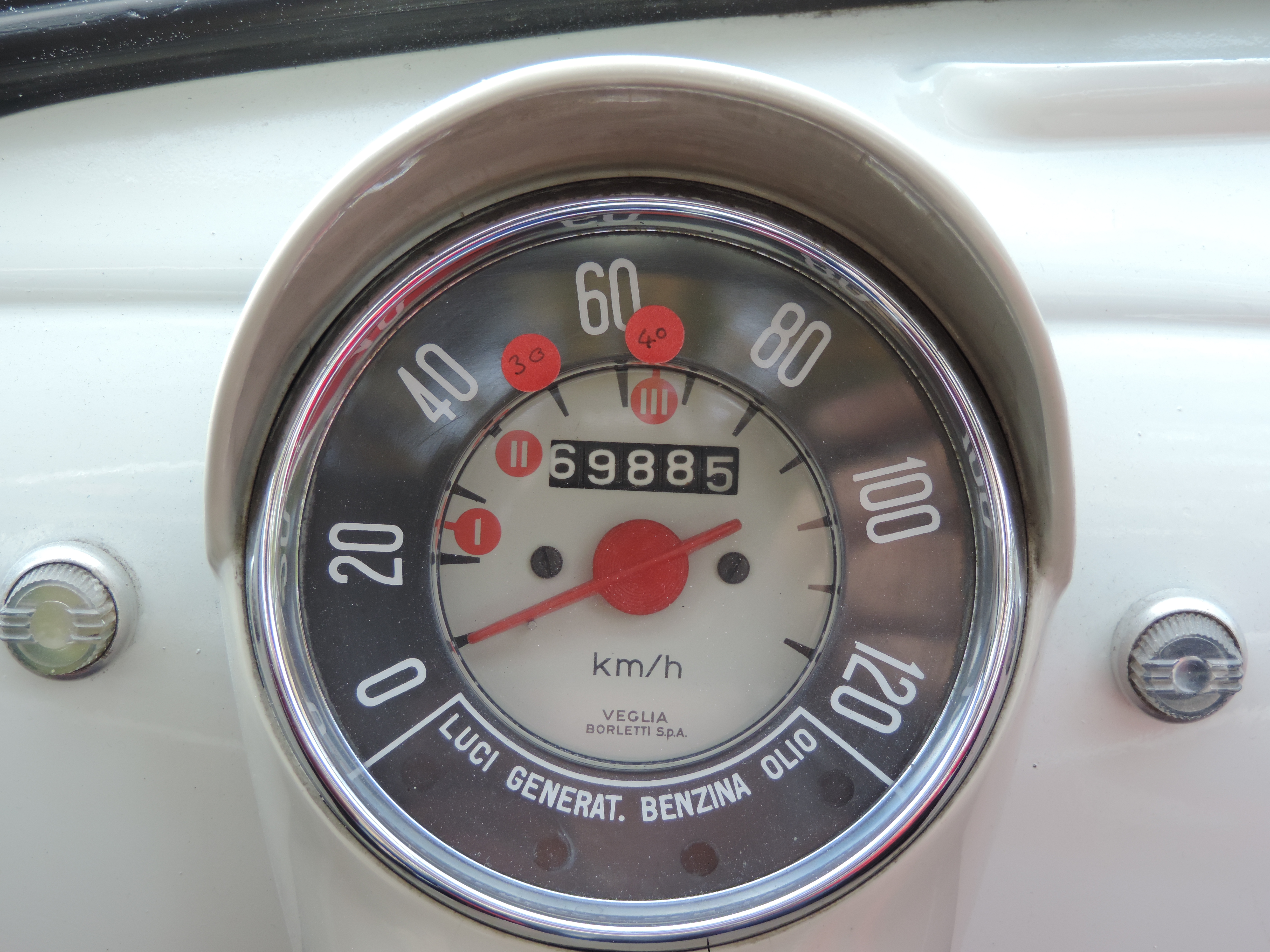 Speedo is only dial